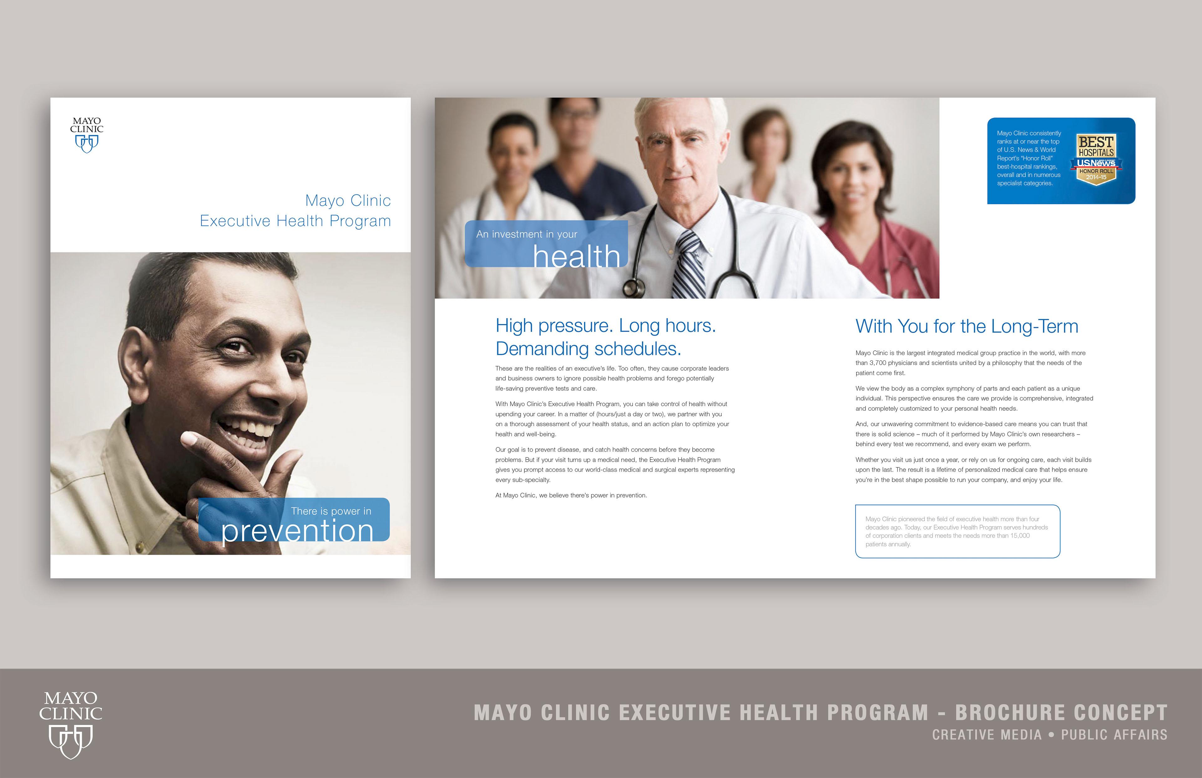 Abby Bradford - Mayo Clinic Executive Health Program