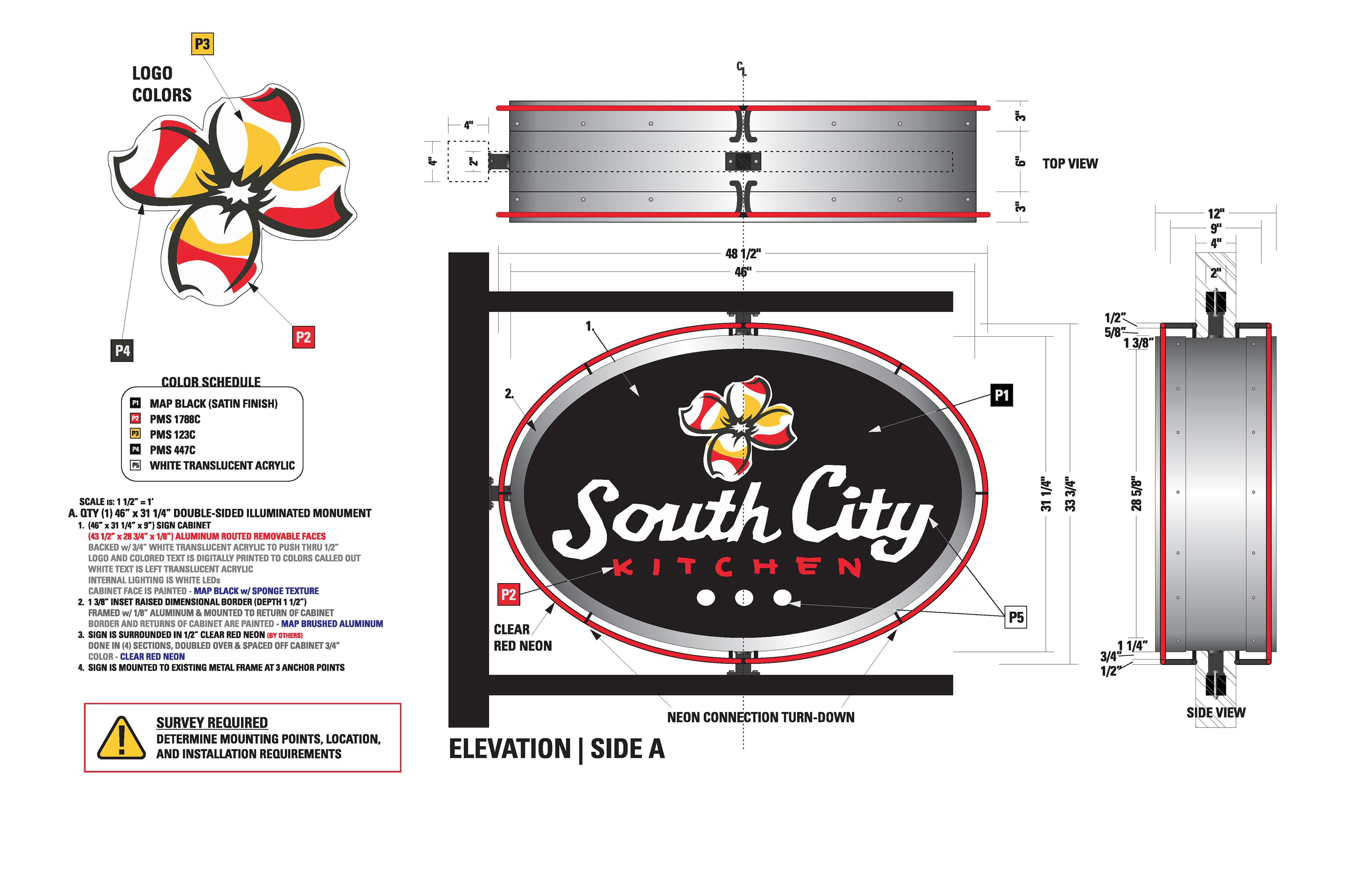 City Kitchen Logo radialdesign studios