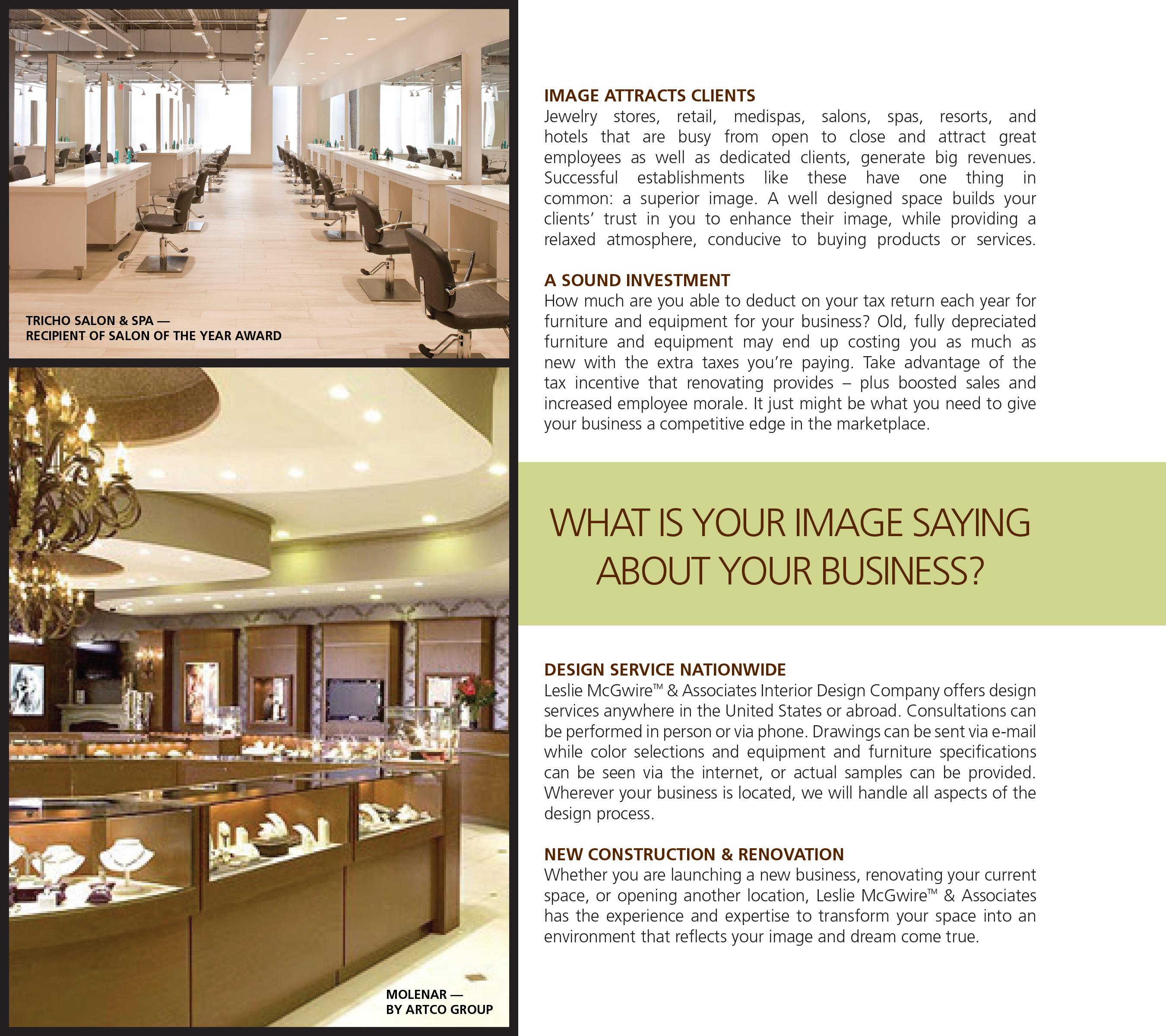 Interior Design SOTY Award Winning : Salon 416  McGwire On Behance