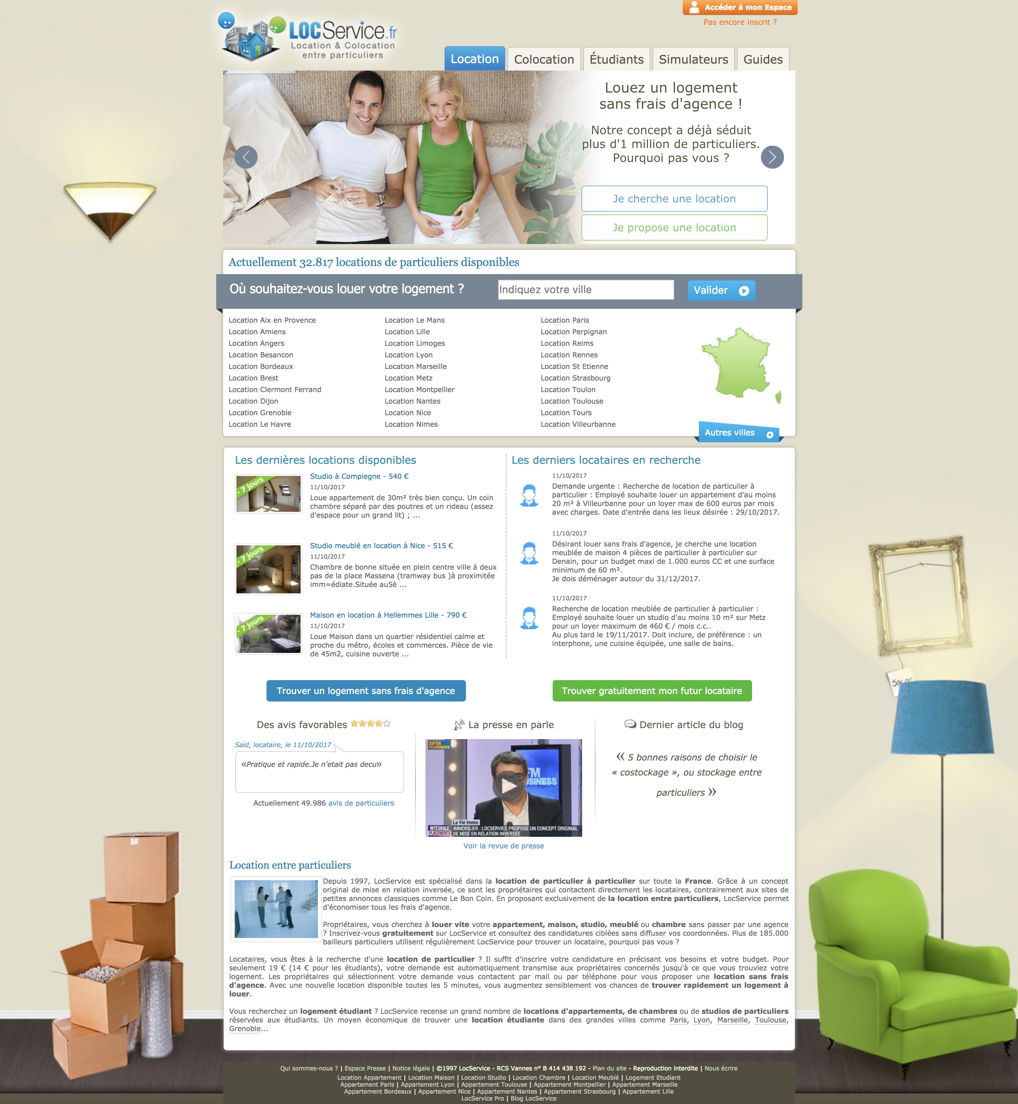 Locservice Responsive Website On Behance