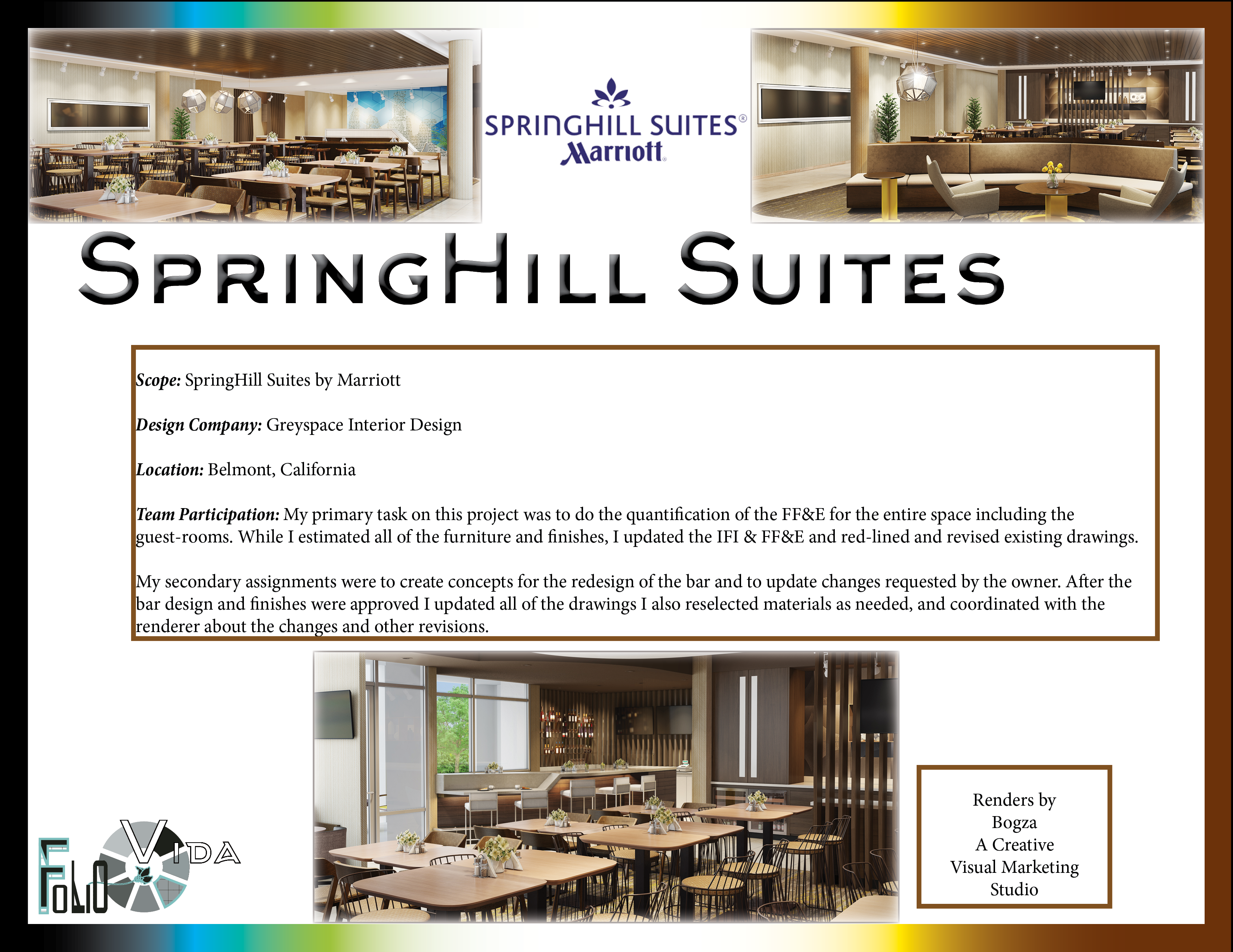 SpringHill Suites On Behance