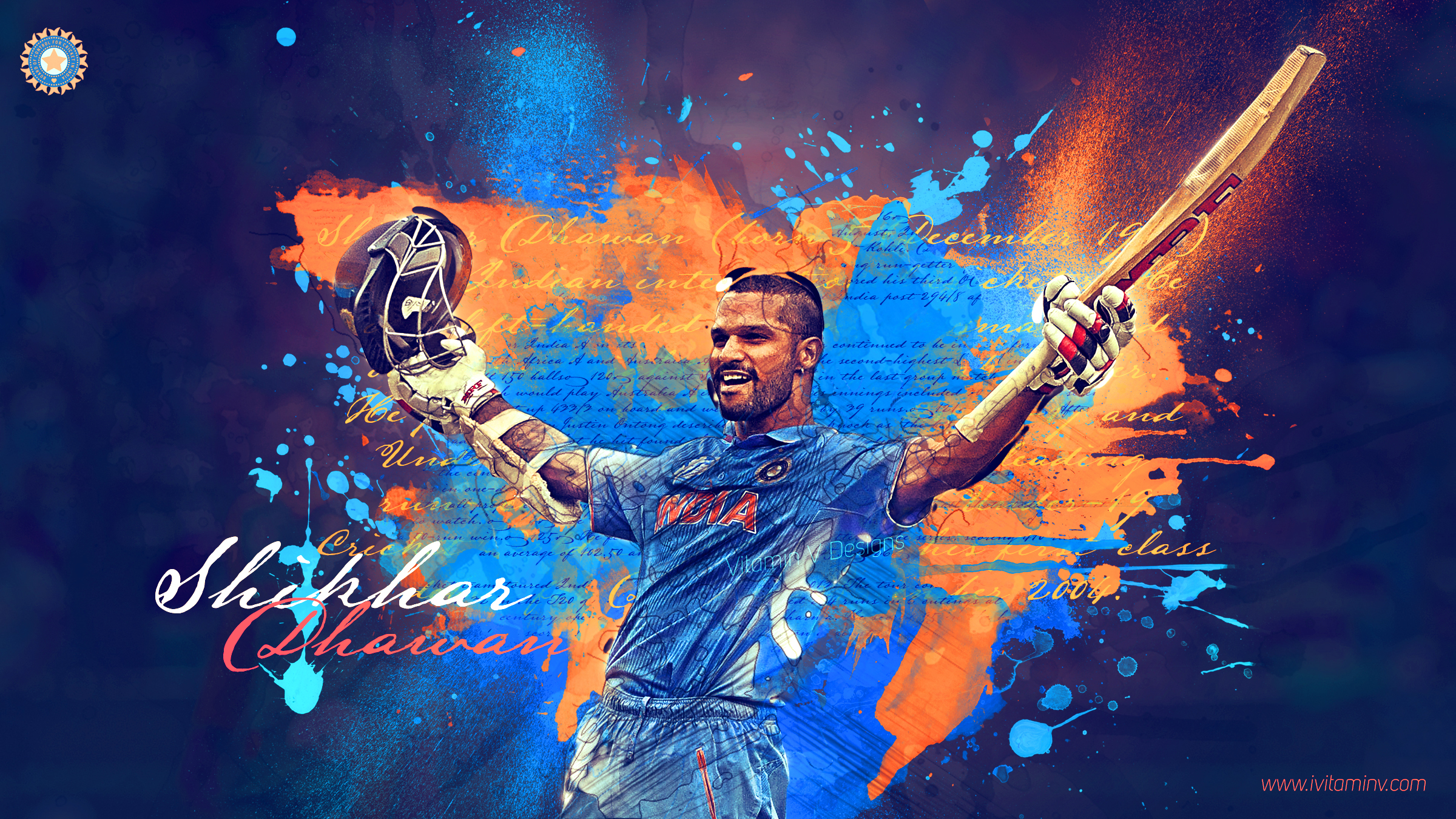 Vick Singh Cricketology Indian Cricket Team Wallpapers