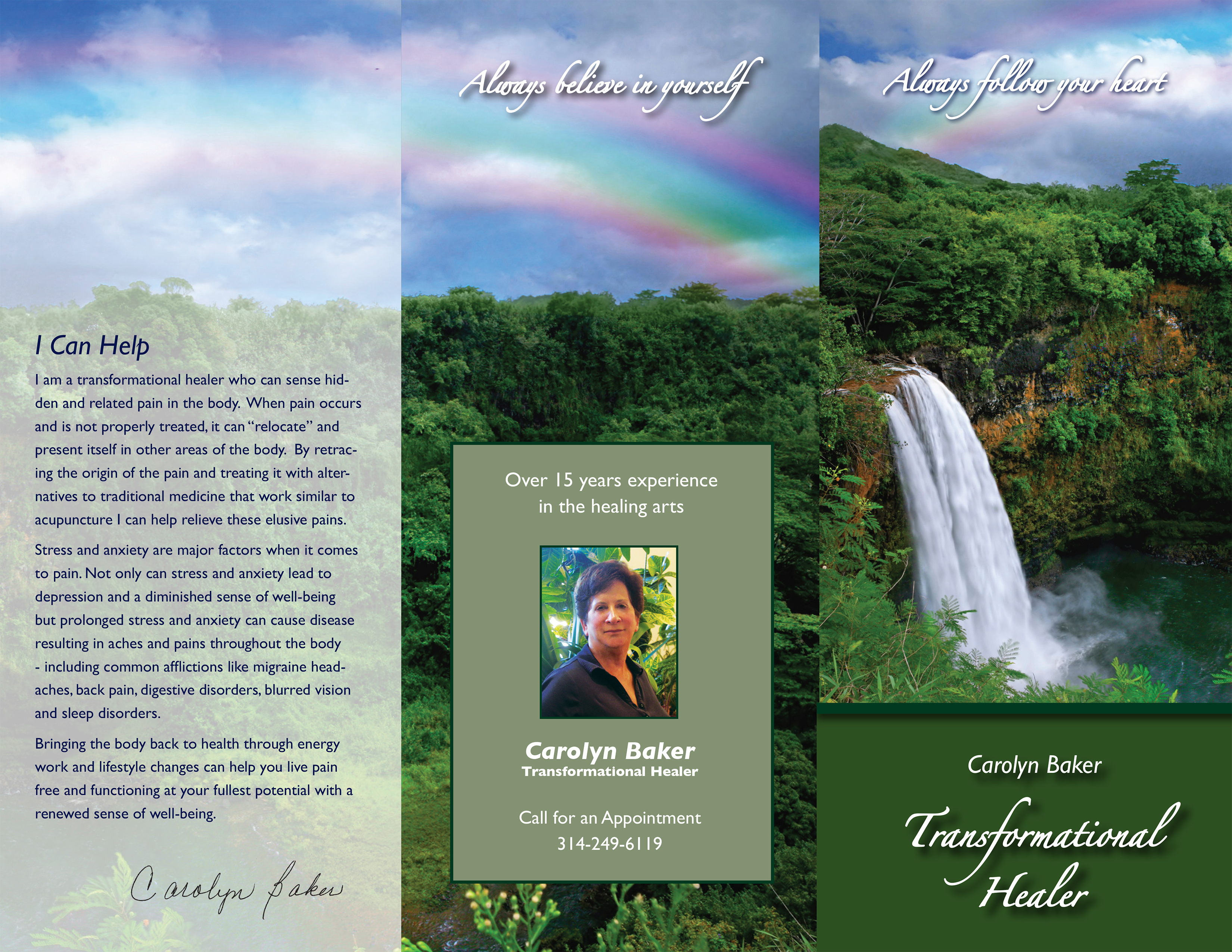 Diana arseneau healers brochure and business card healers brochure and business card reheart Image collections
