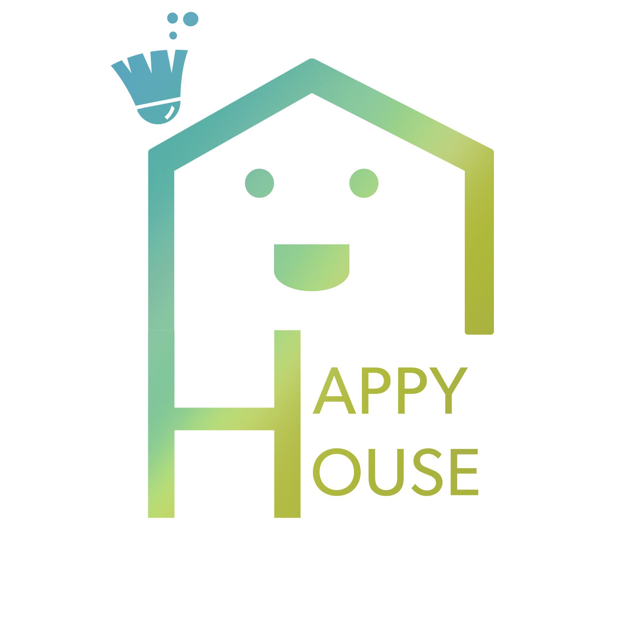 amarise acosta logo happy house cleaning rh thephoebesalgado myportfolio com house cleaning logo design house cleaning logo maker