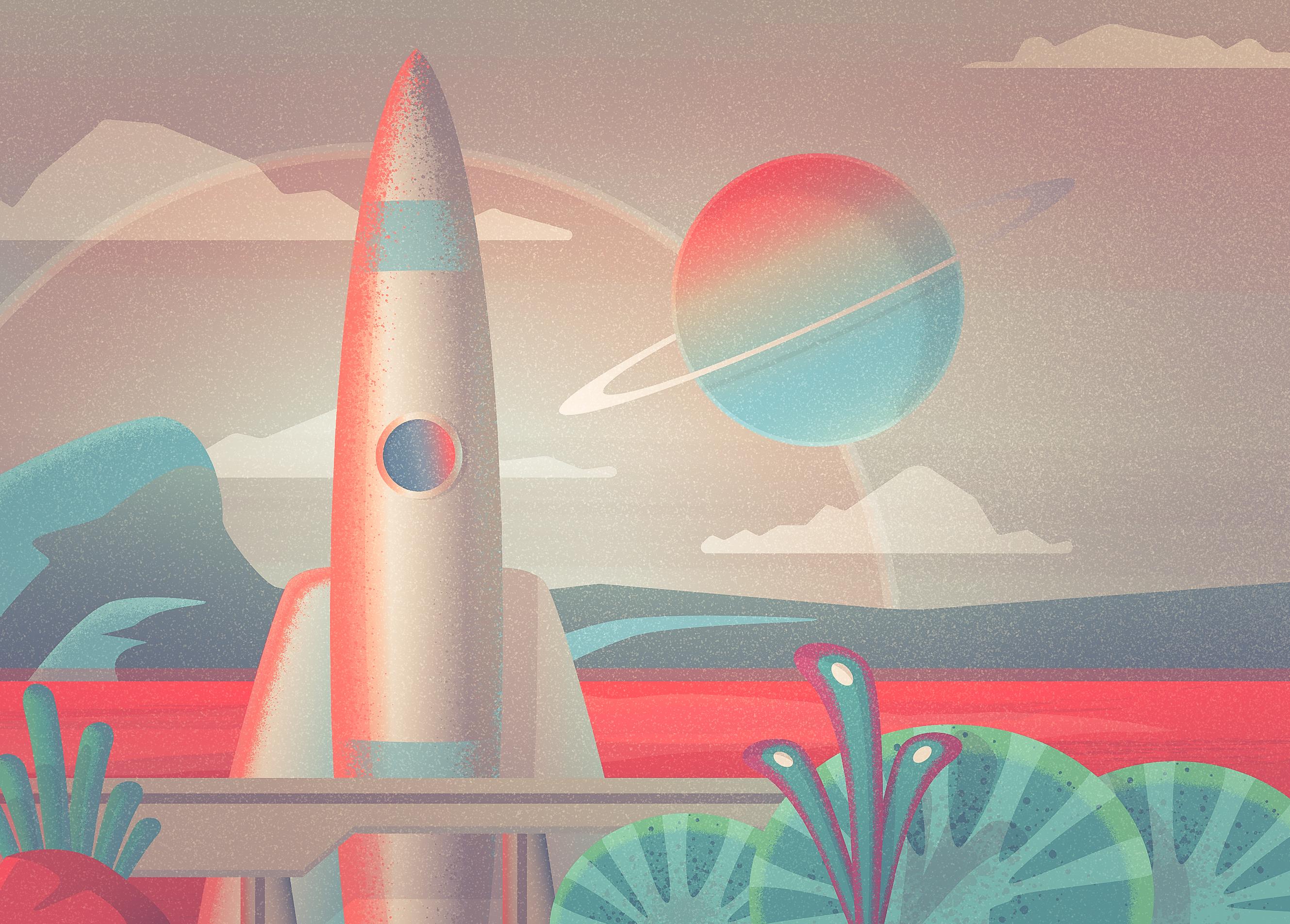 future rocket gif - HD1400×1003
