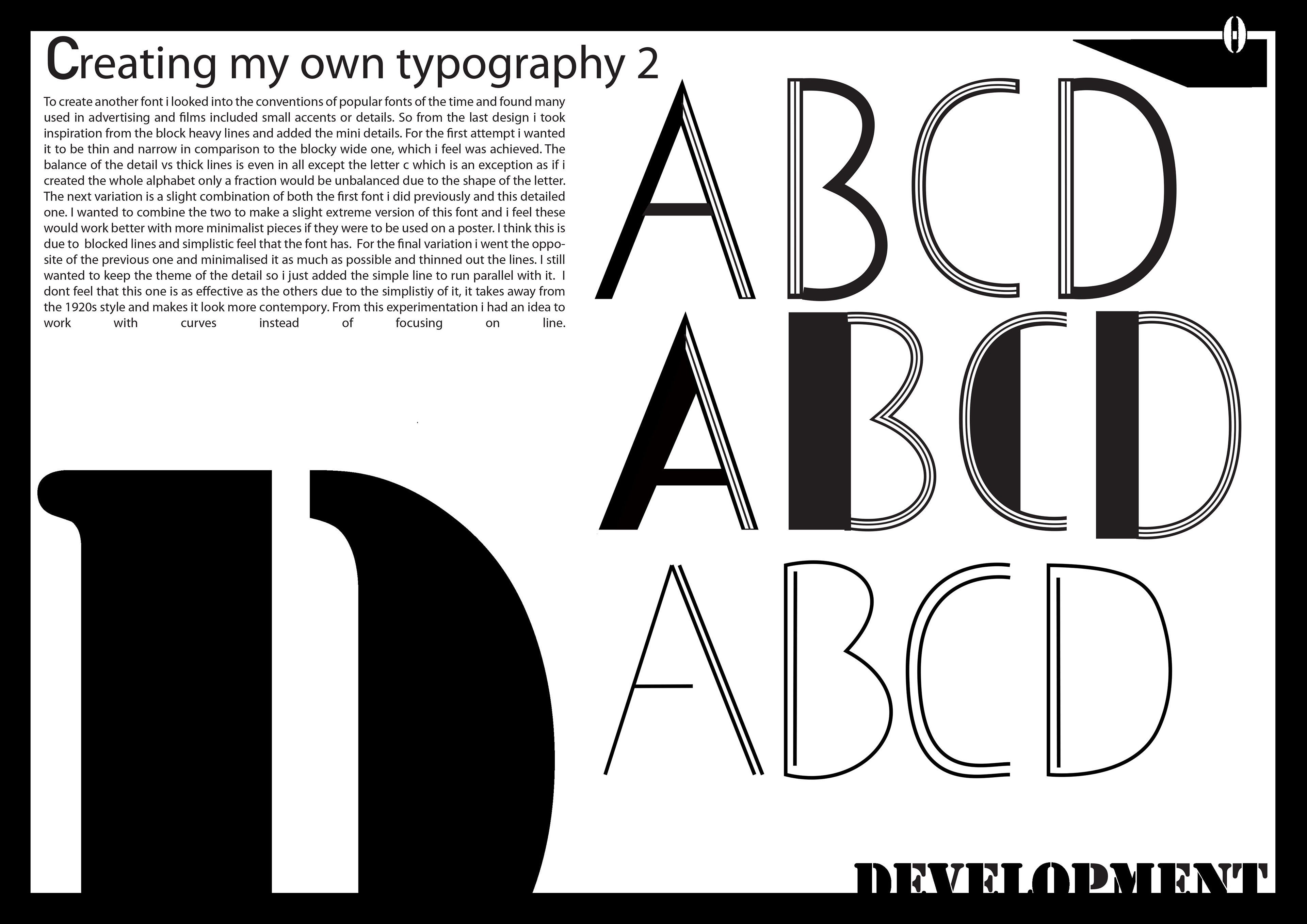 Research And Development Into 1920s Typography