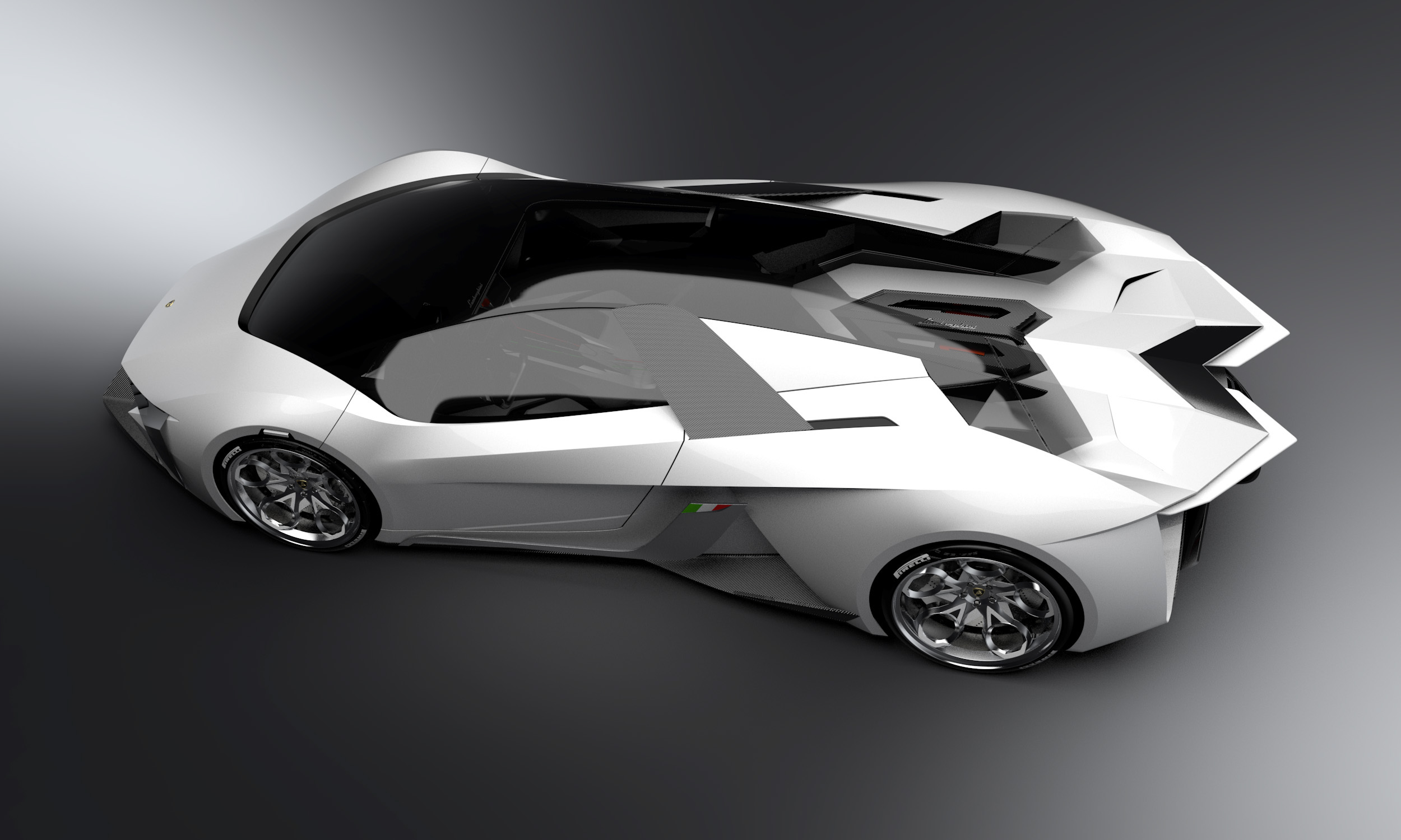 Lamborghini Diamante Concept On Behance