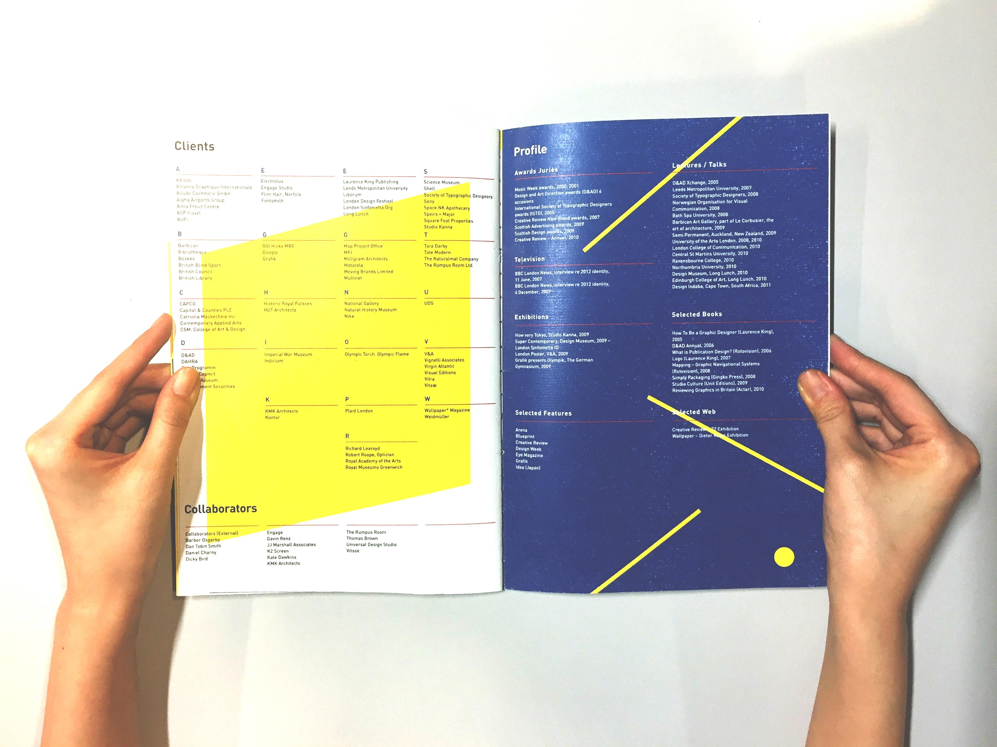 Geometric brochure design on behance malvernweather Choice Image