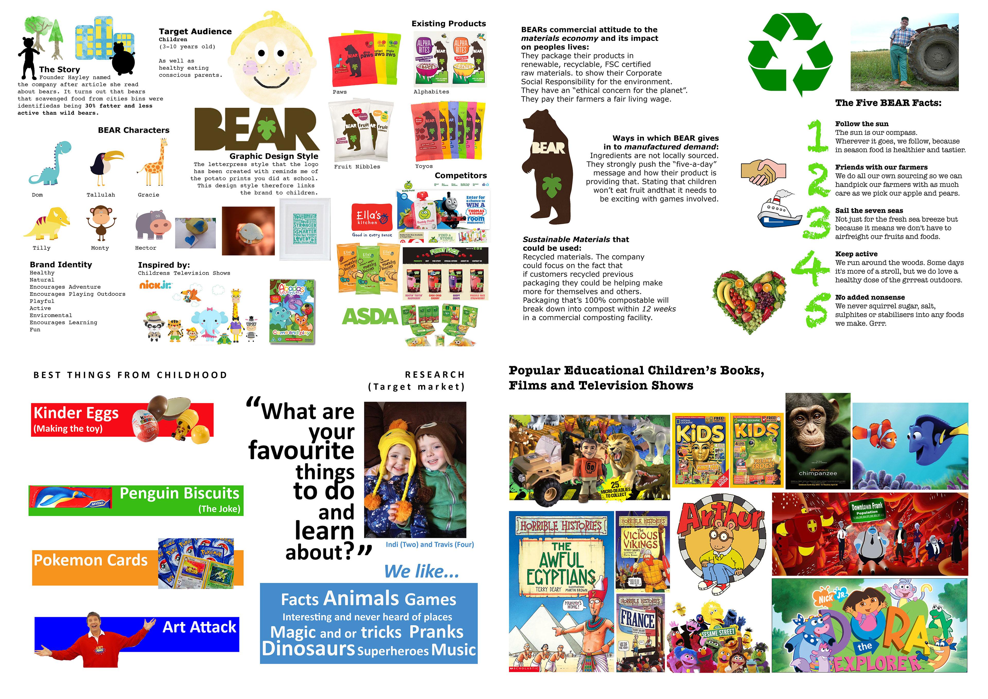 Amy MacGillivray - BEAR Cereal Box Design