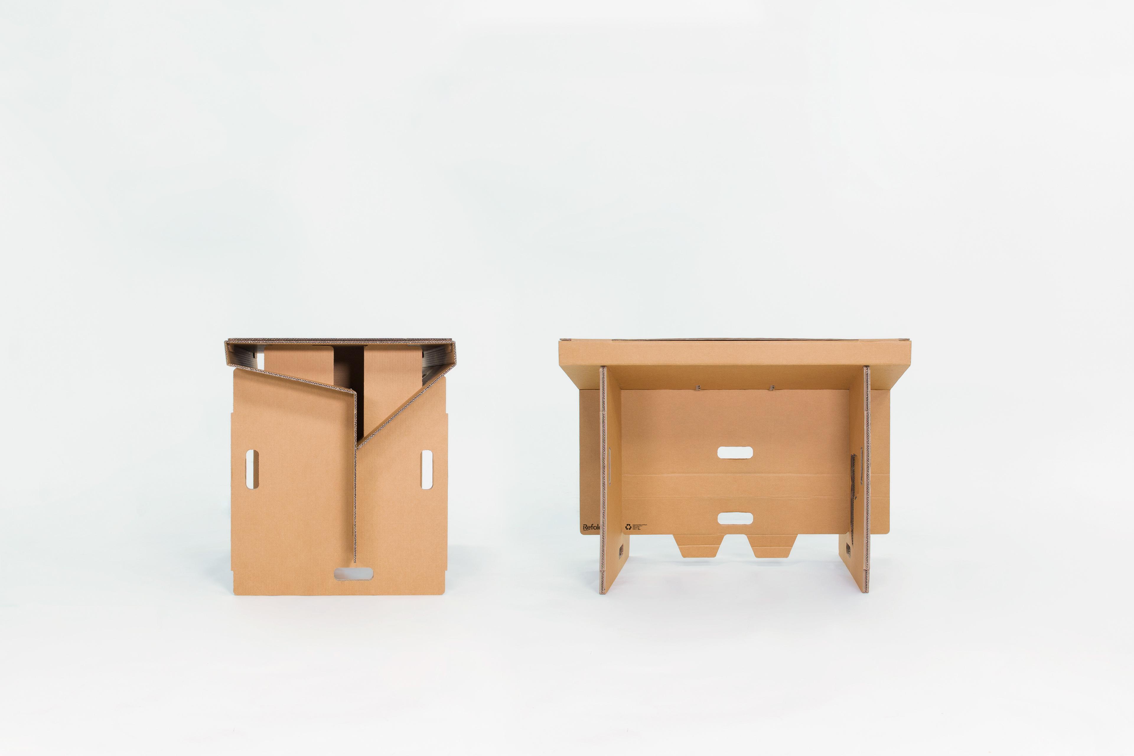 Cardboard Standing Desk | Refold On Behance