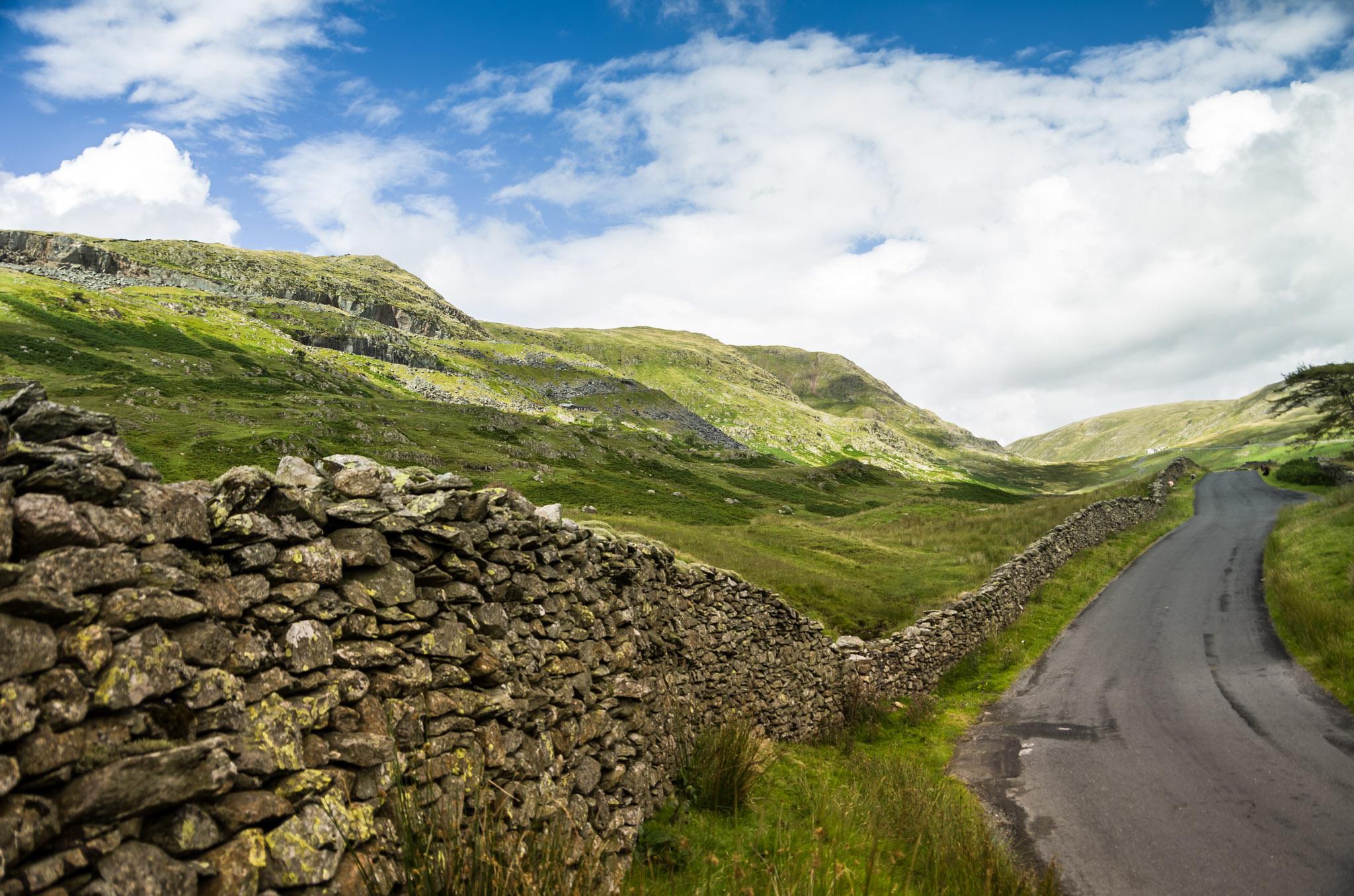 Half Way Up, Lake District, England
