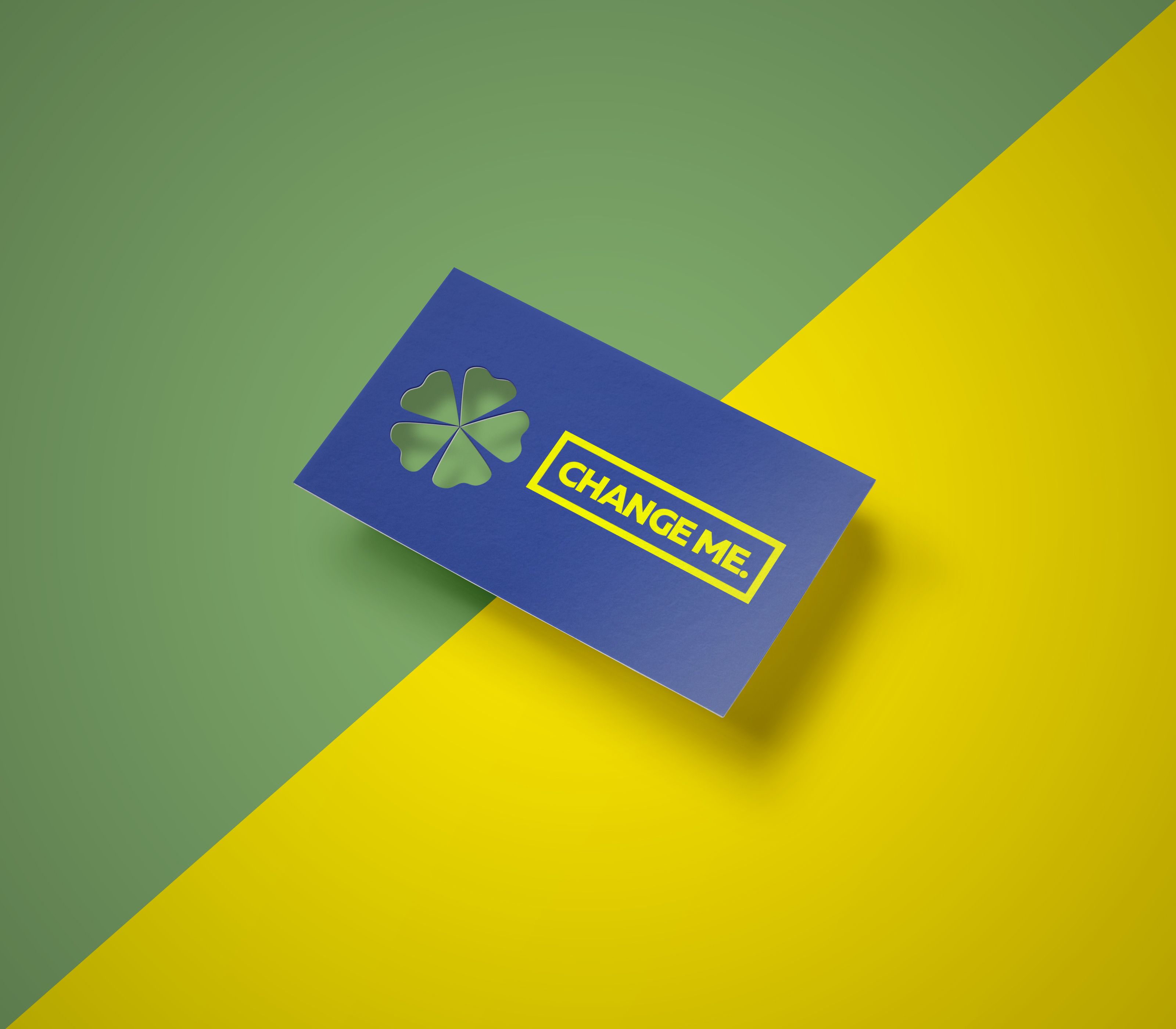Free Cut-out Business Card Mockup on Behance