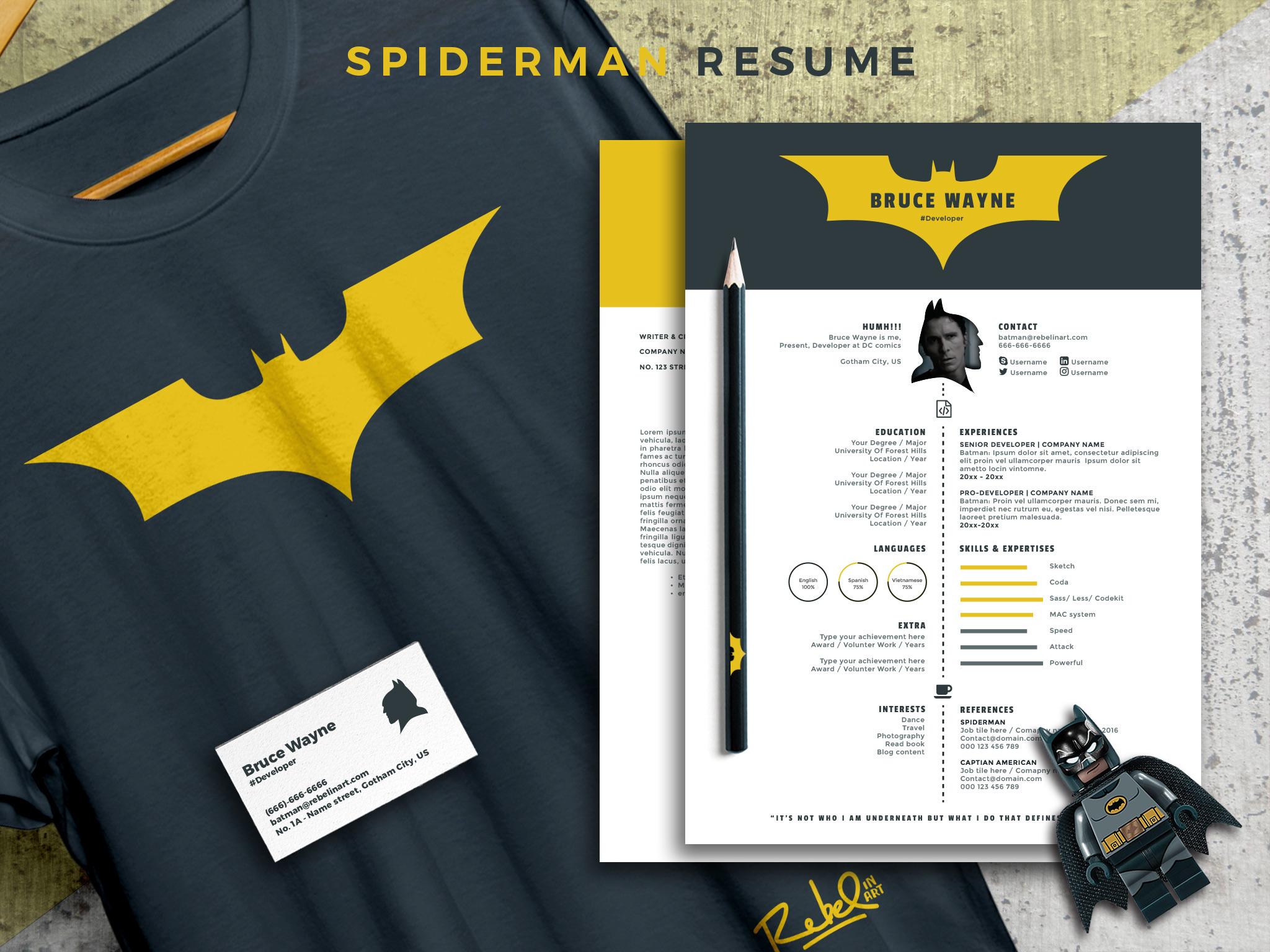 batman resume