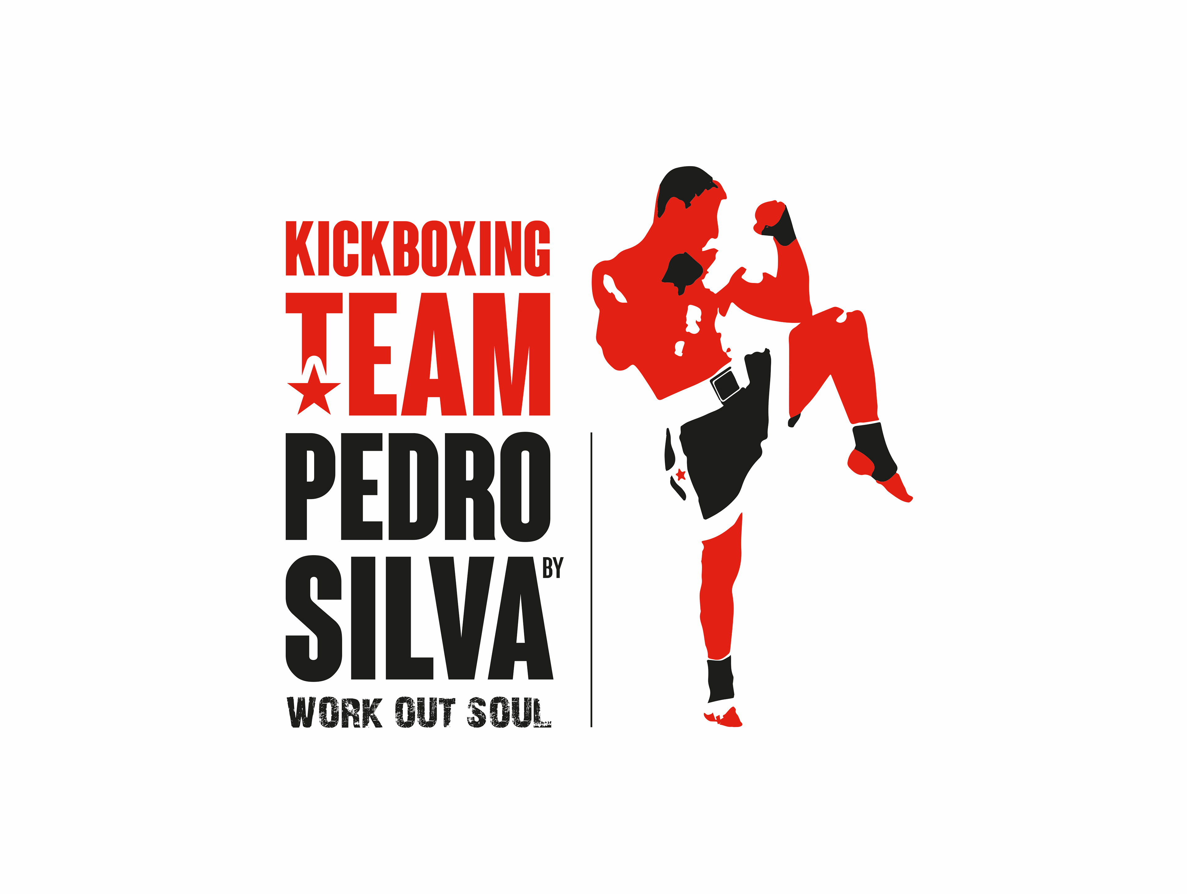 pedro silva kickboxing team logo on behance rh behance net logos kickboxing kick boxing logo