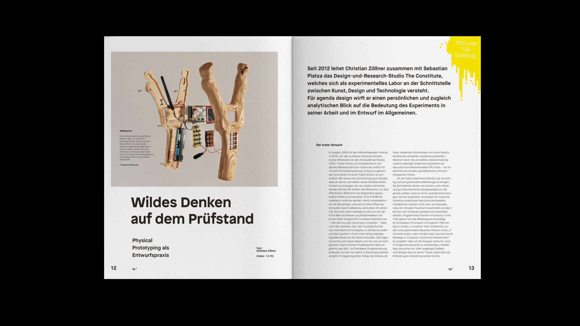 agenda design 4 on Behance