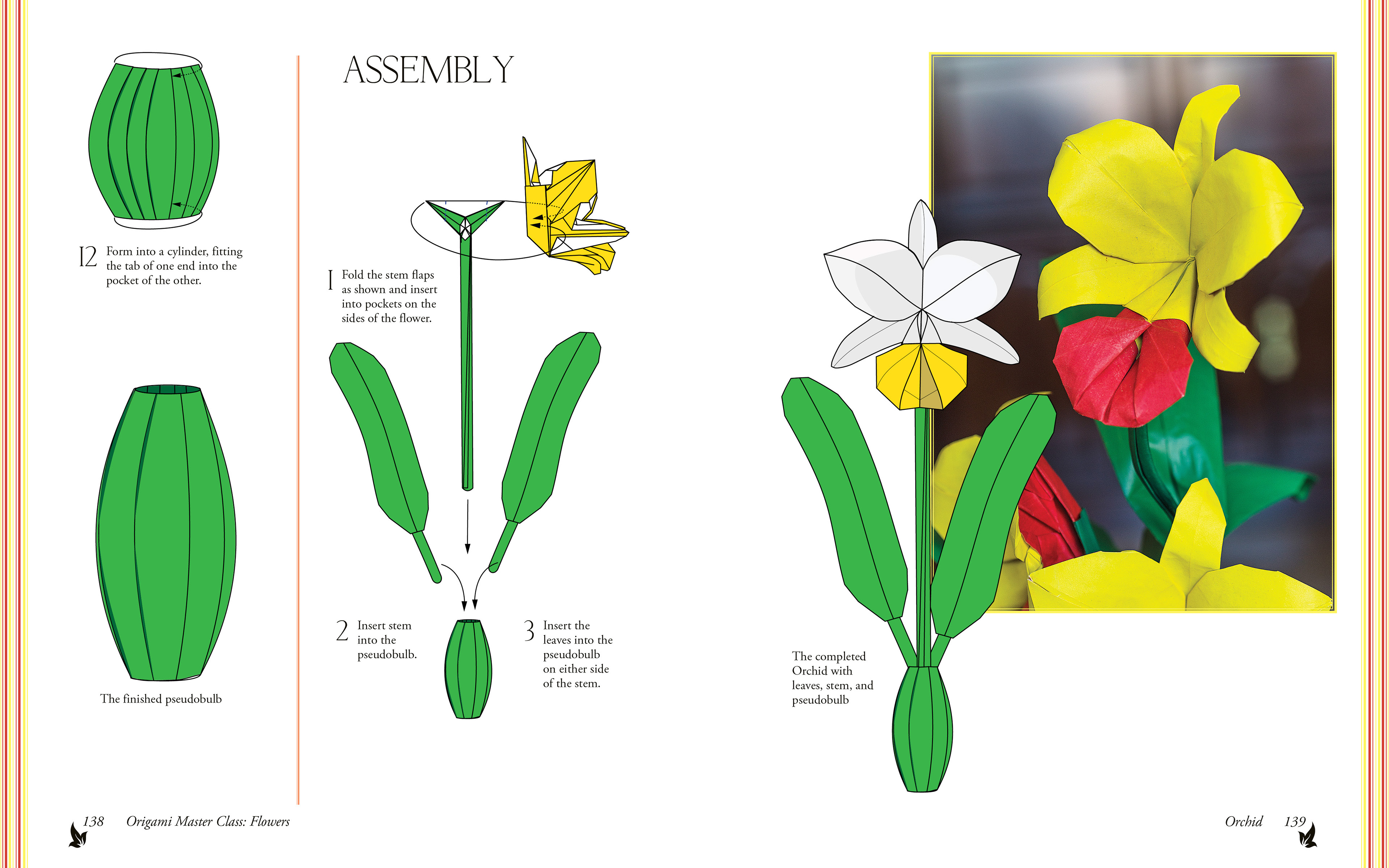 Origami Master Class Flowers On Behance