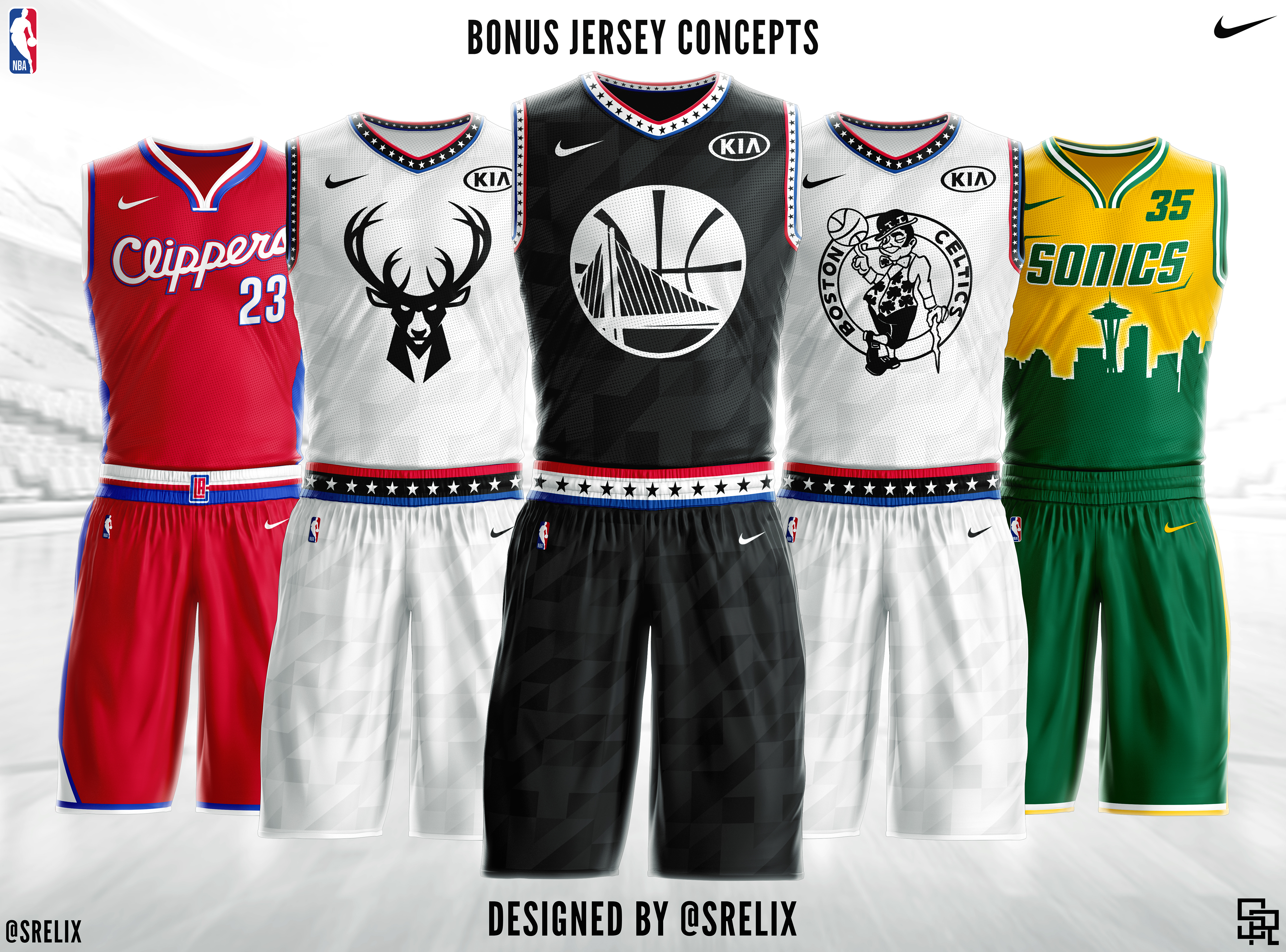 97bcf48743f NBA Jersey Concepts on Behance