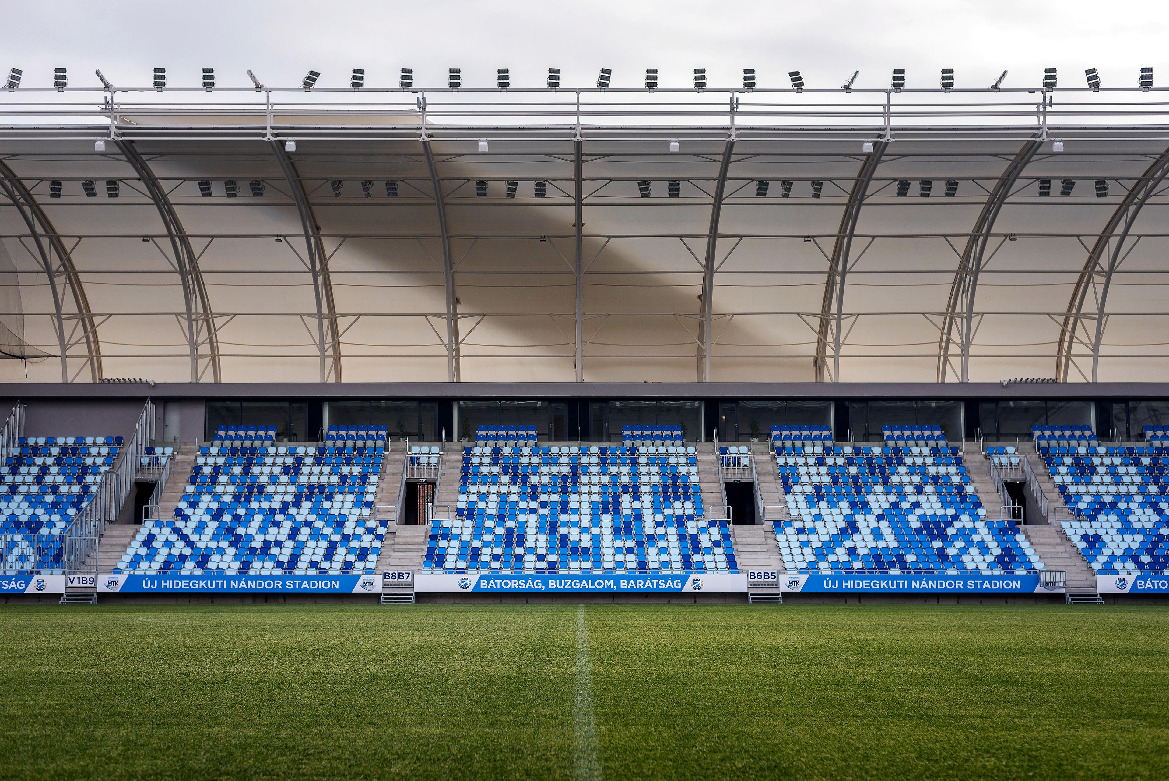 The Football Capsule šj Hidegkºti Nándor Stadium on Behance