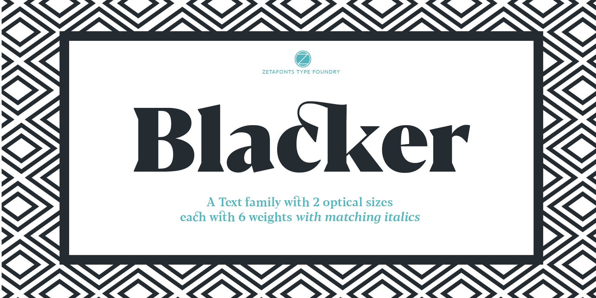 Free Font: Blacker Text Family