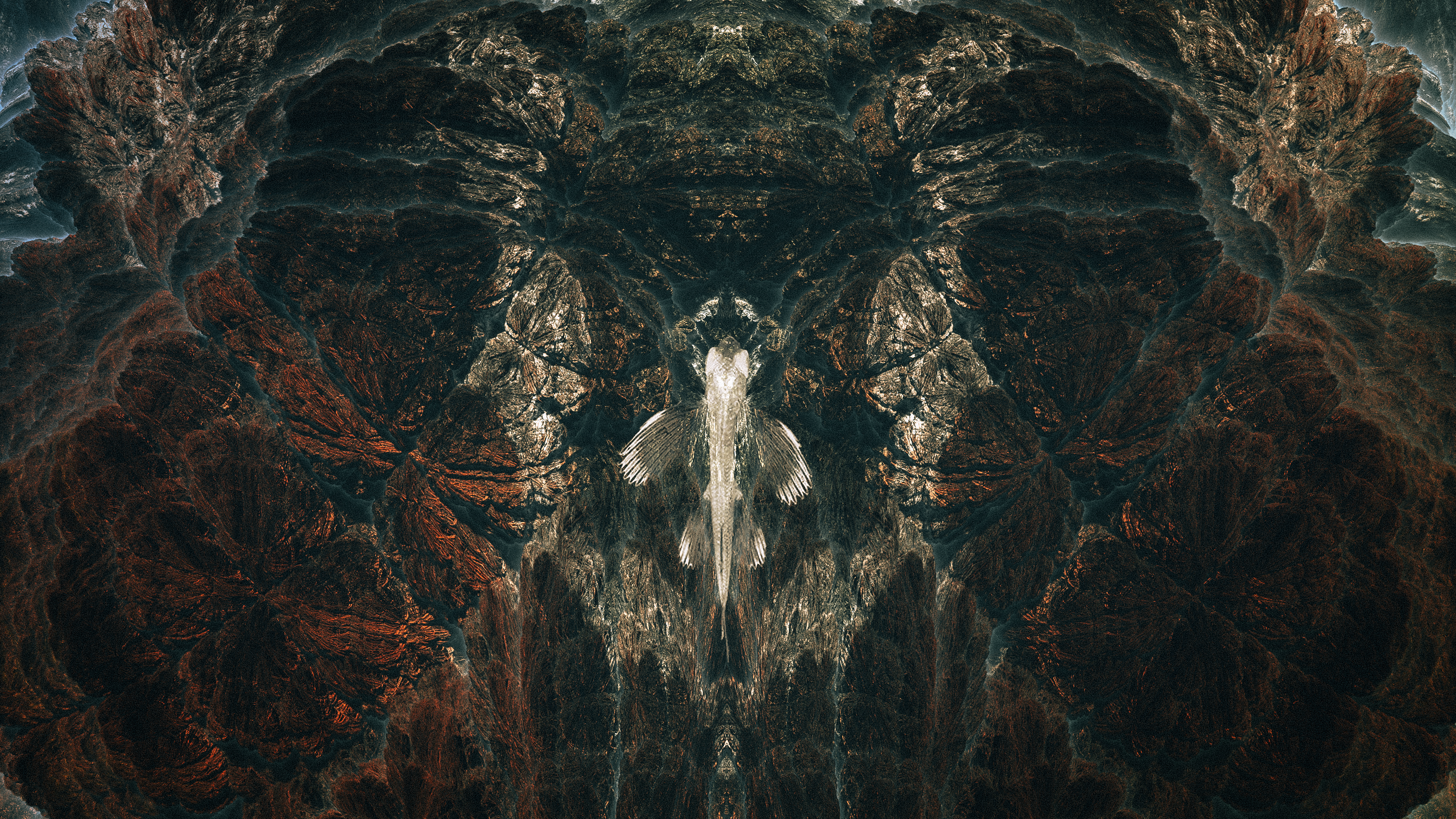 The Mandelbrot Loneliness Abstract Series by Nikita Kolbovskiy The Mandelbrot Loneliness Abstract Series by Nikita Kolbovskiy