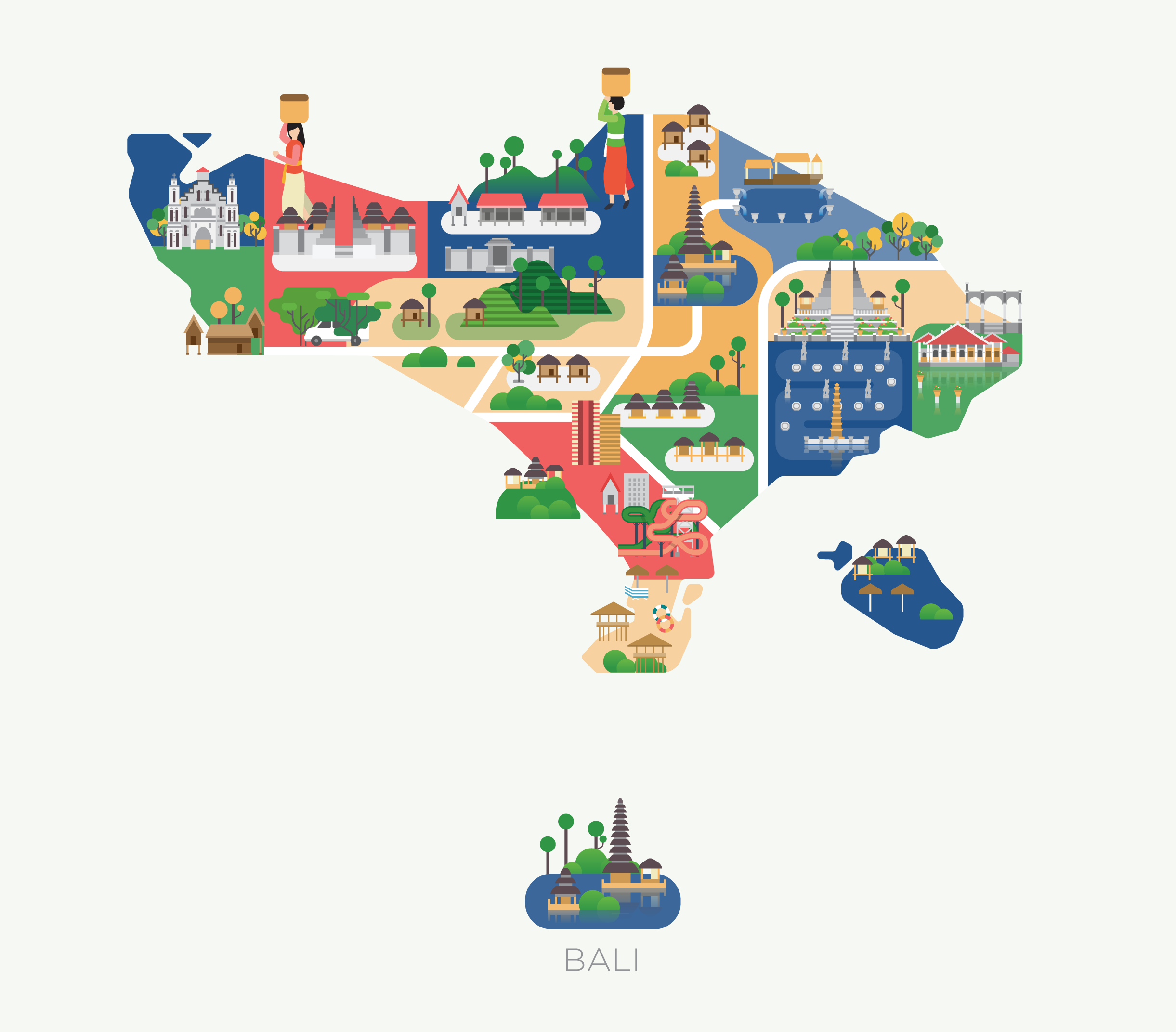 Maps Of Asia On Behance - Asia maps
