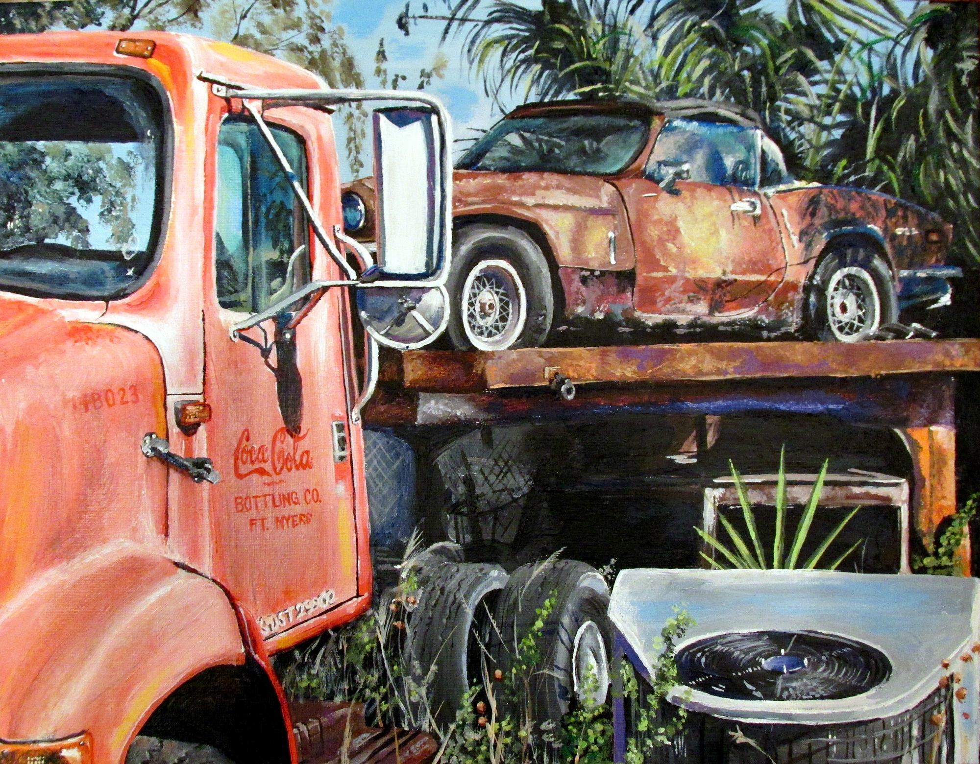 Alexa Simos - Junked Cars Concentration