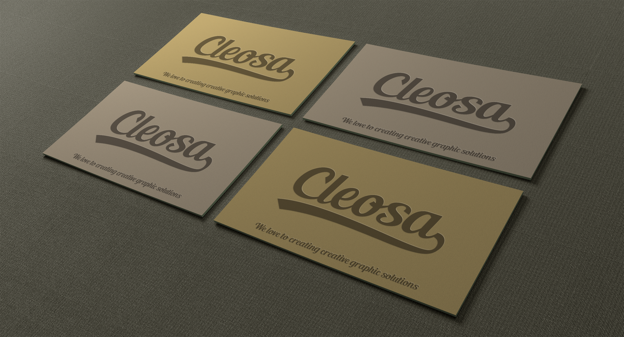 Free Business Card Mock-Ups on Behance