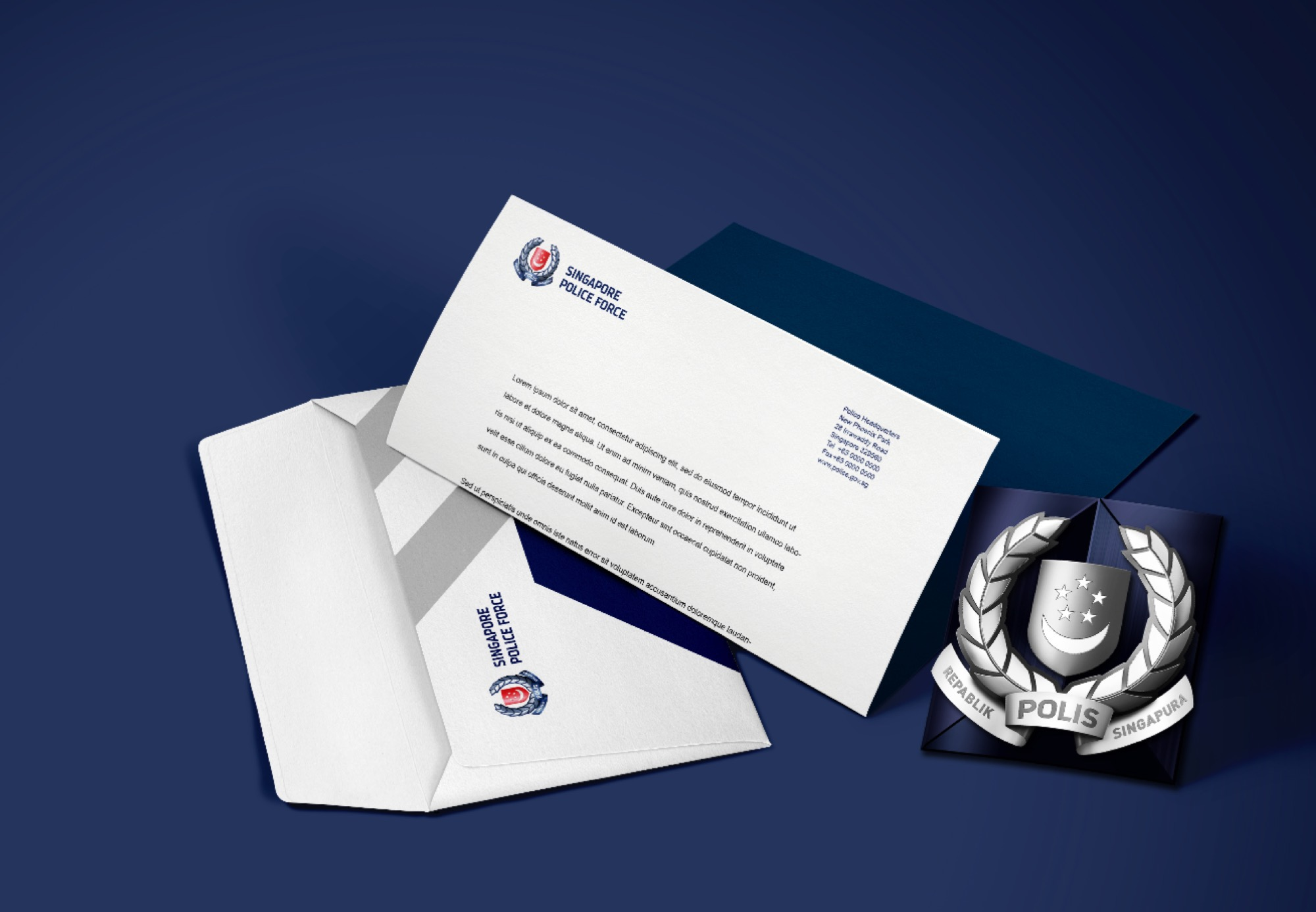 Singapore Police Force on Behance