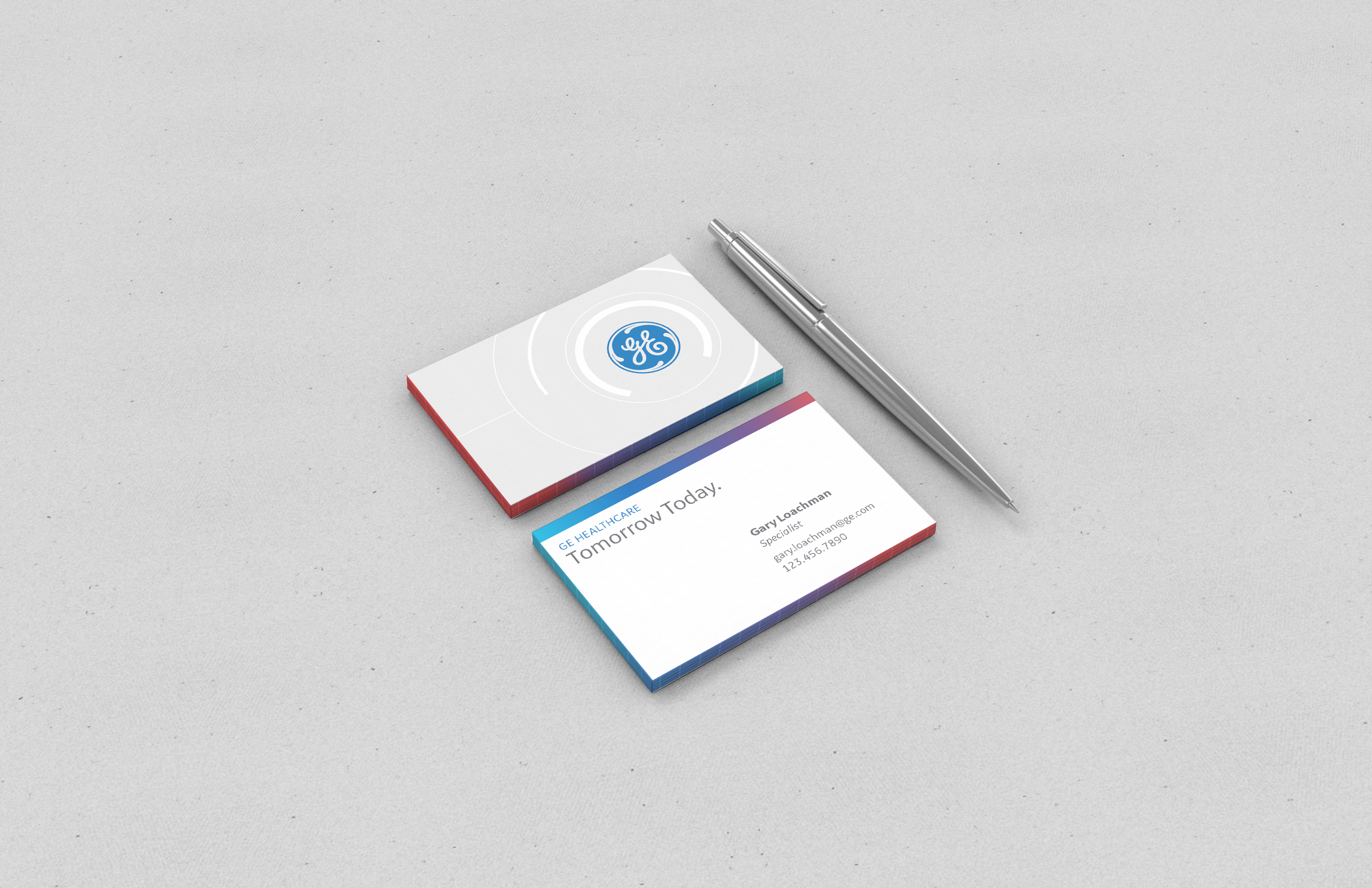ge mr visual identity on behance