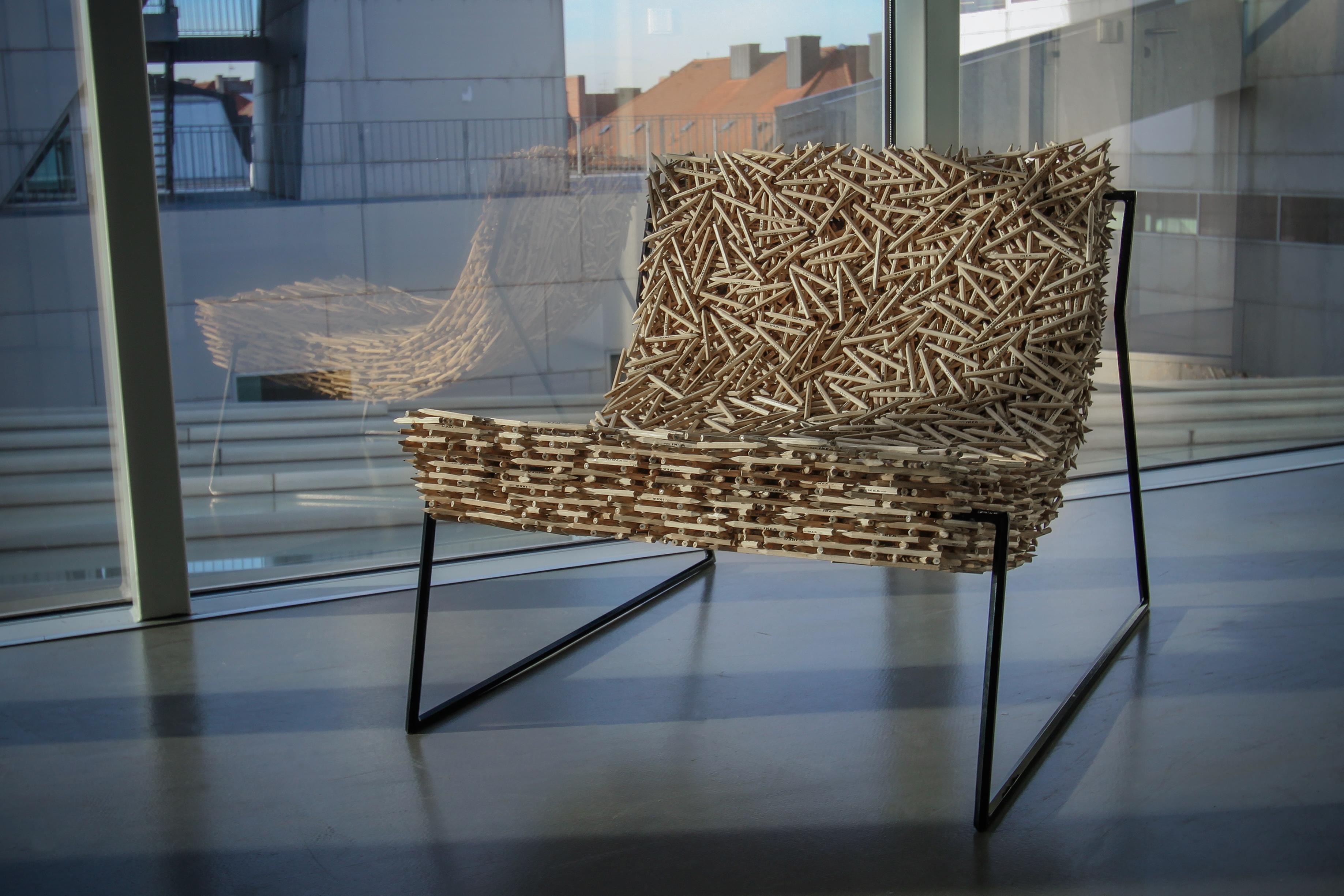 STØRENFRIED / IKEA Pencil Chair On Behance