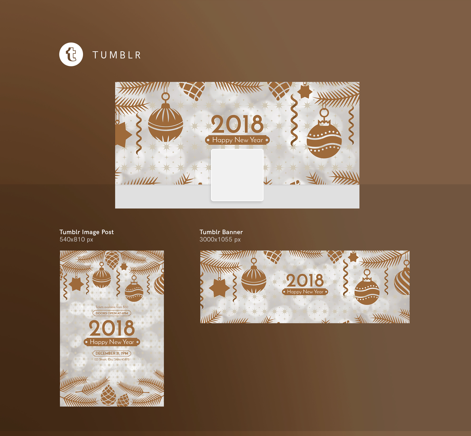 happy new year modern and creative templates suite on behance