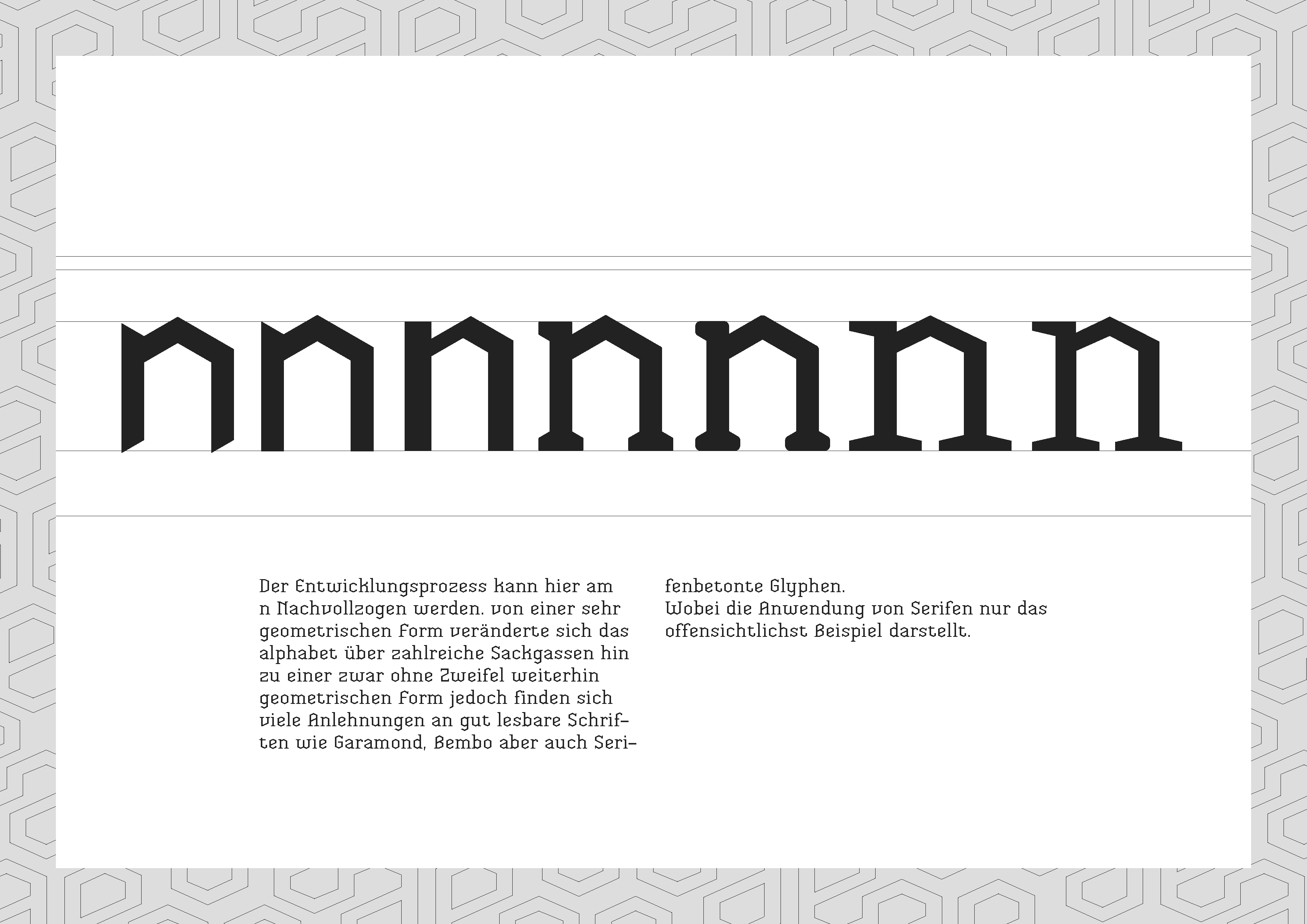 Hochwertig First Steps Of A Modular Typeface That Should Be Legible Although Sticking  To The Initial Idea Of Geometric Forms.