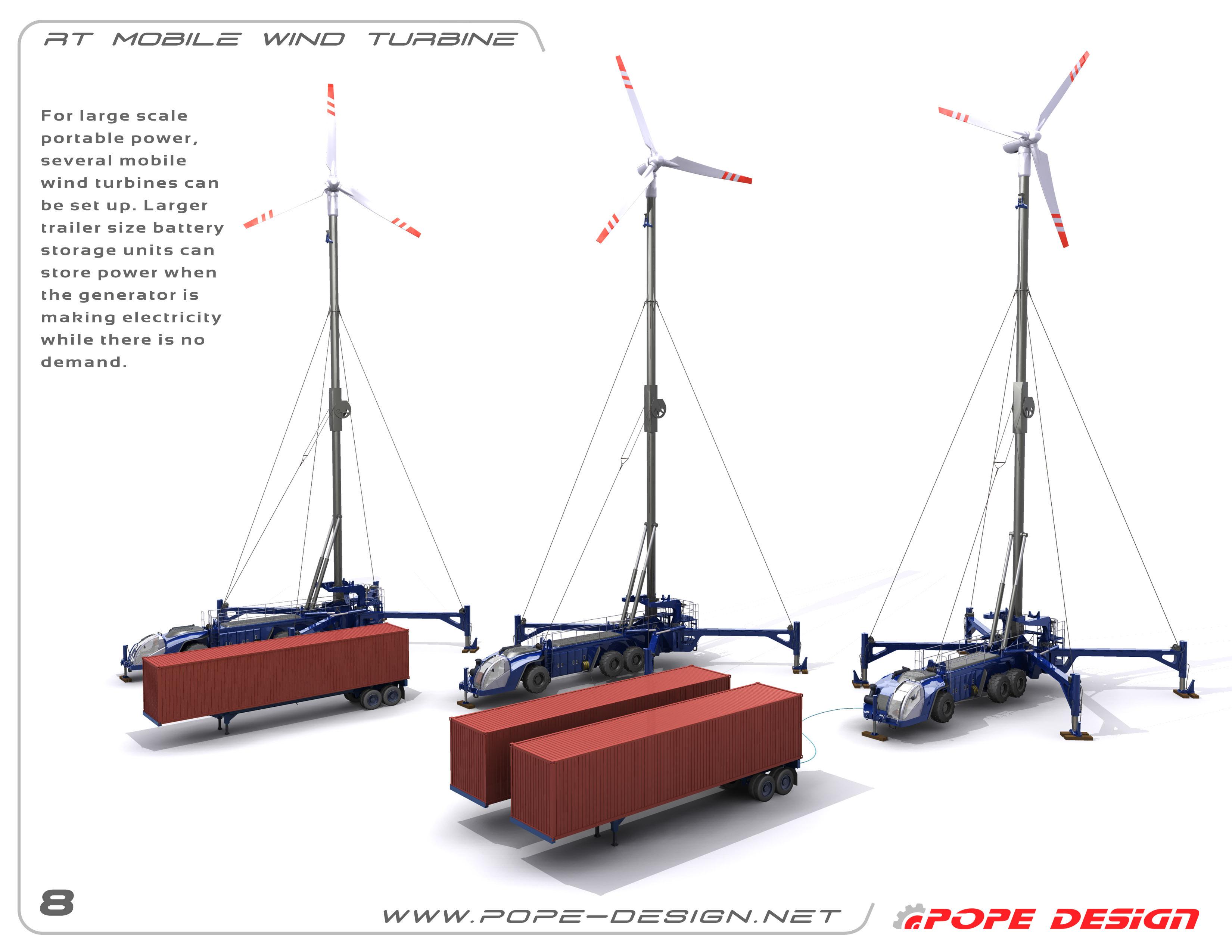RT Wind Turbine Concept on Behance