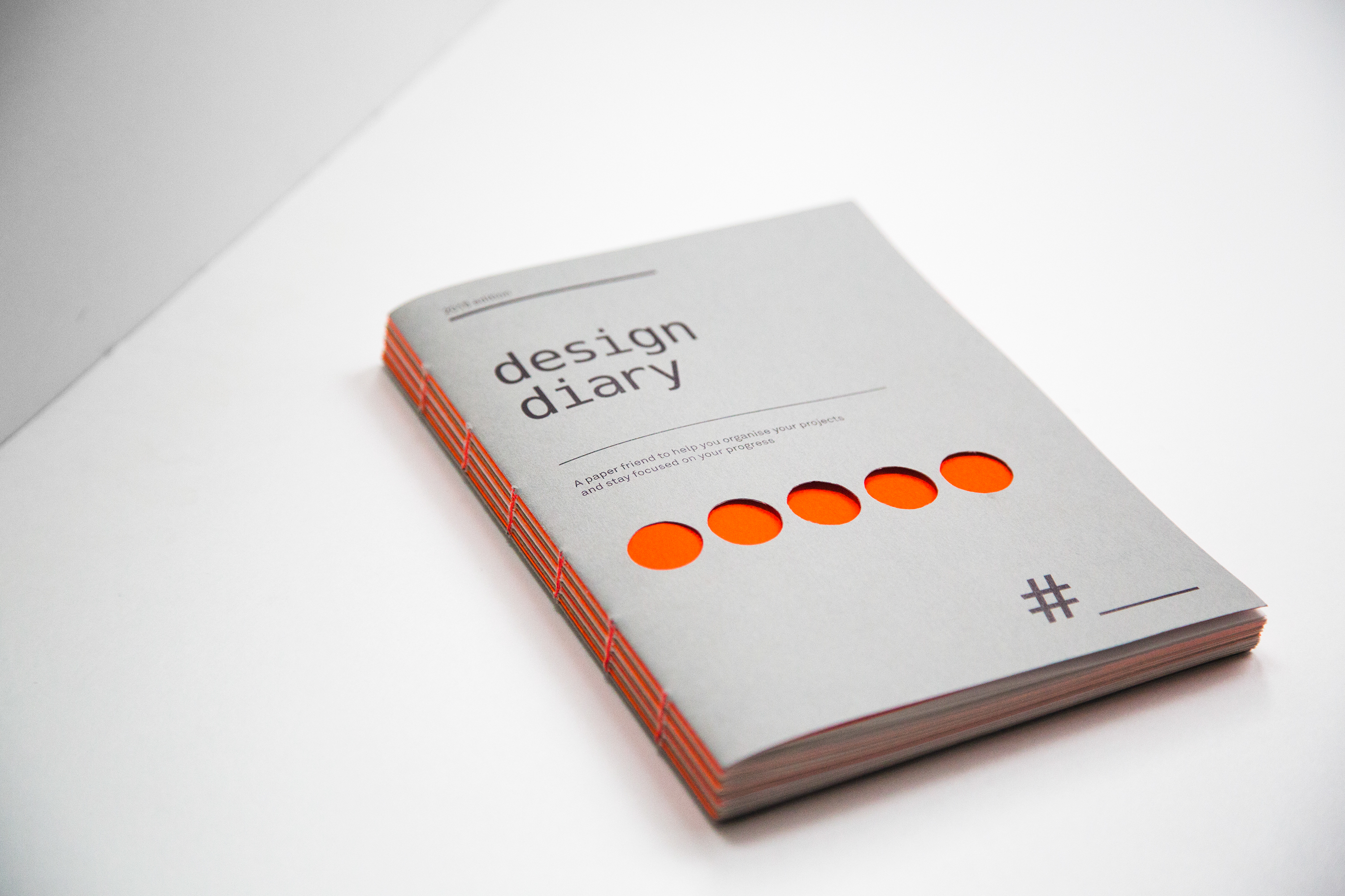 how to design a diary