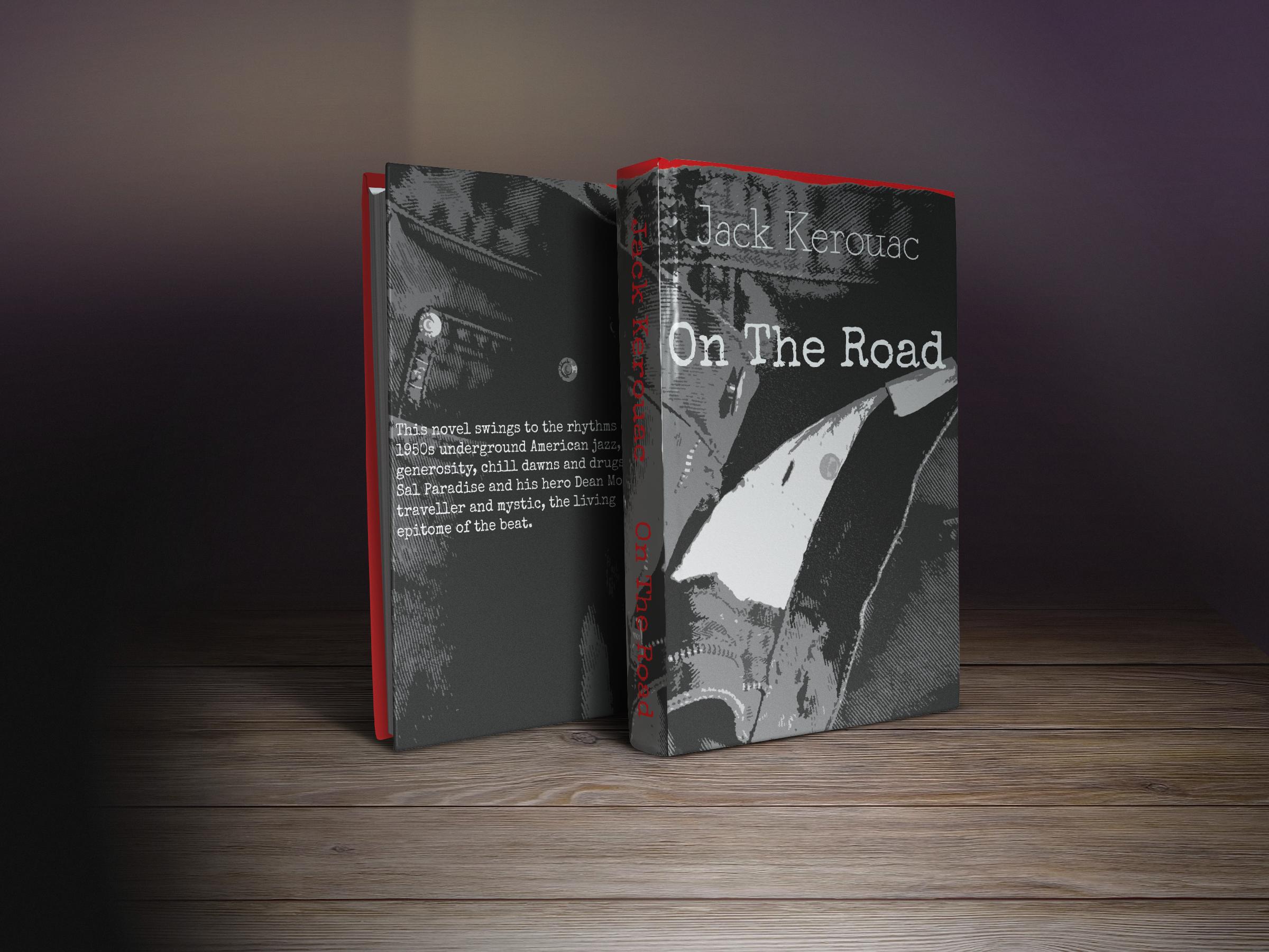 Резултат с изображение за jack kerouac on the road book cover