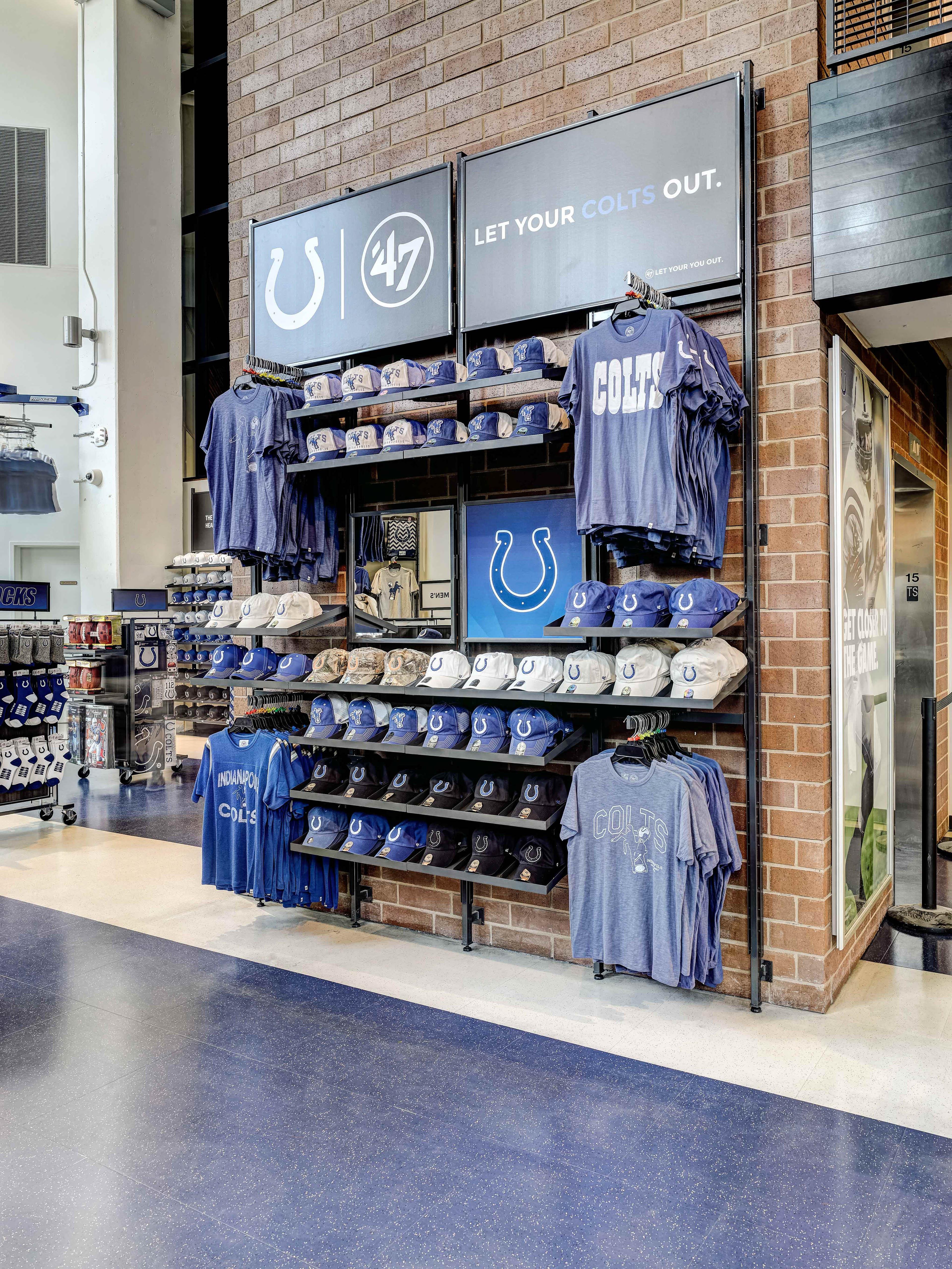 Colts Pro Shop Lucas Oil Stadium on Behance