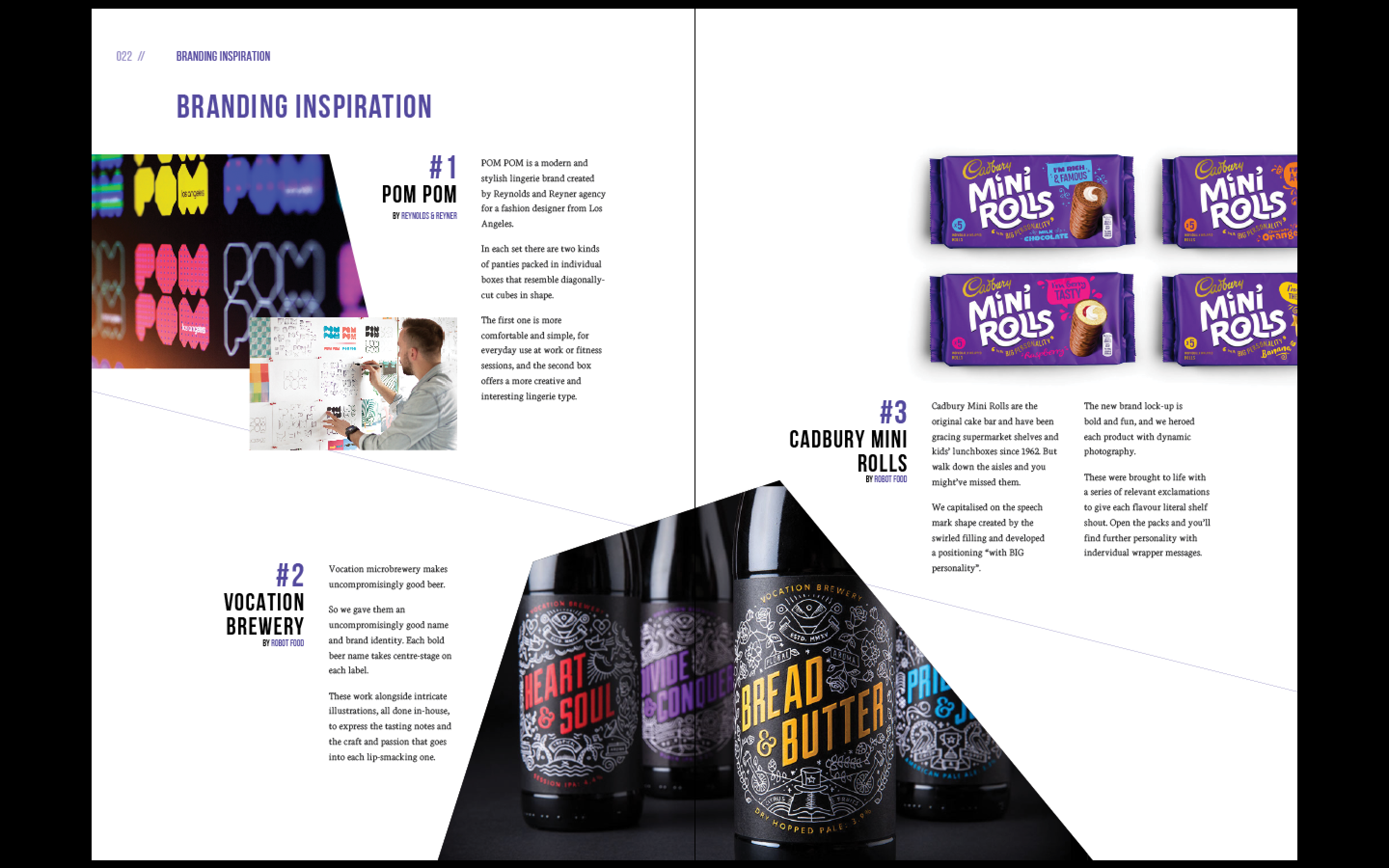 Design Meets Business Magazine Design Process on Behance