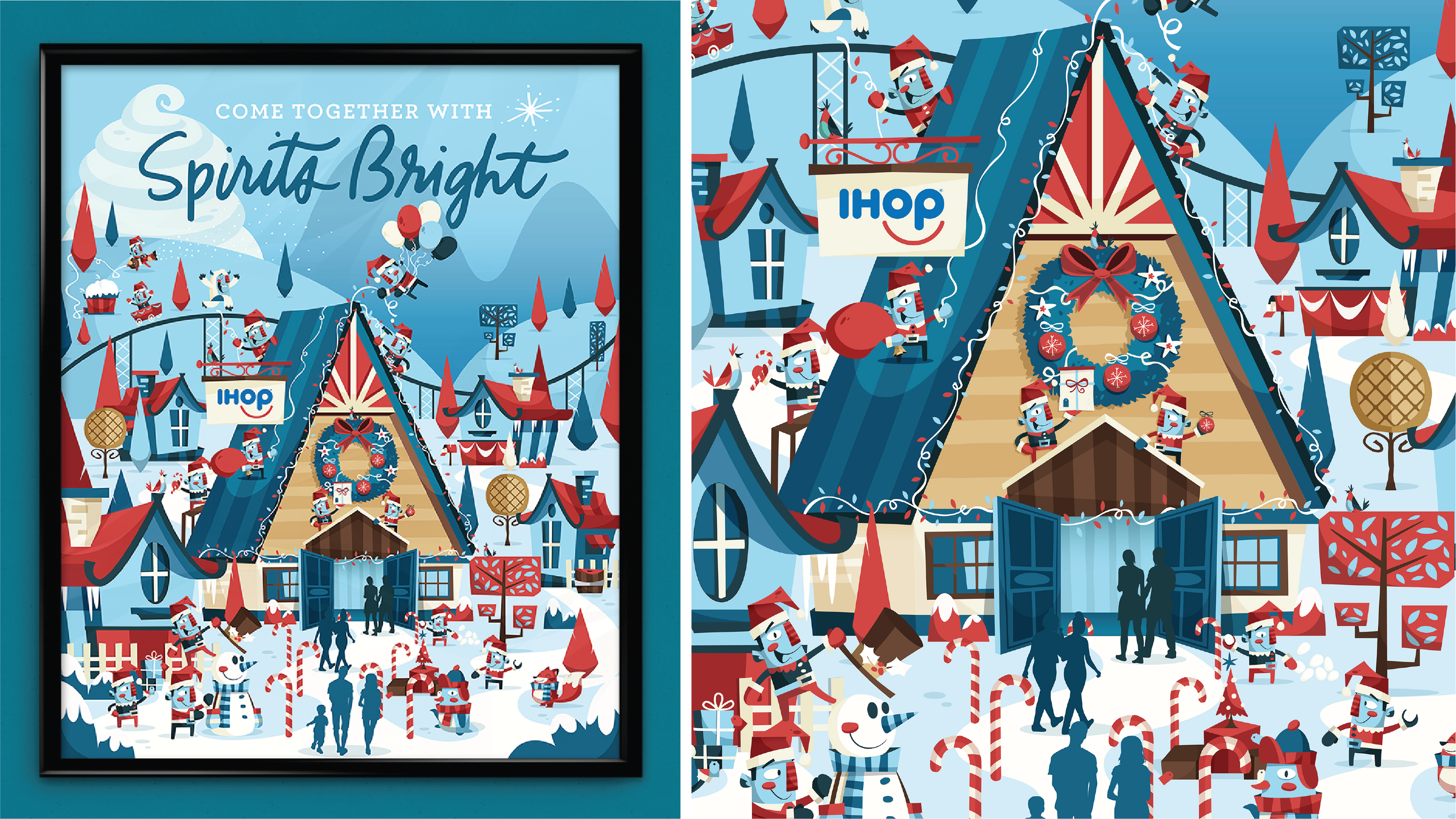 IHOP Holiday Series on Behance