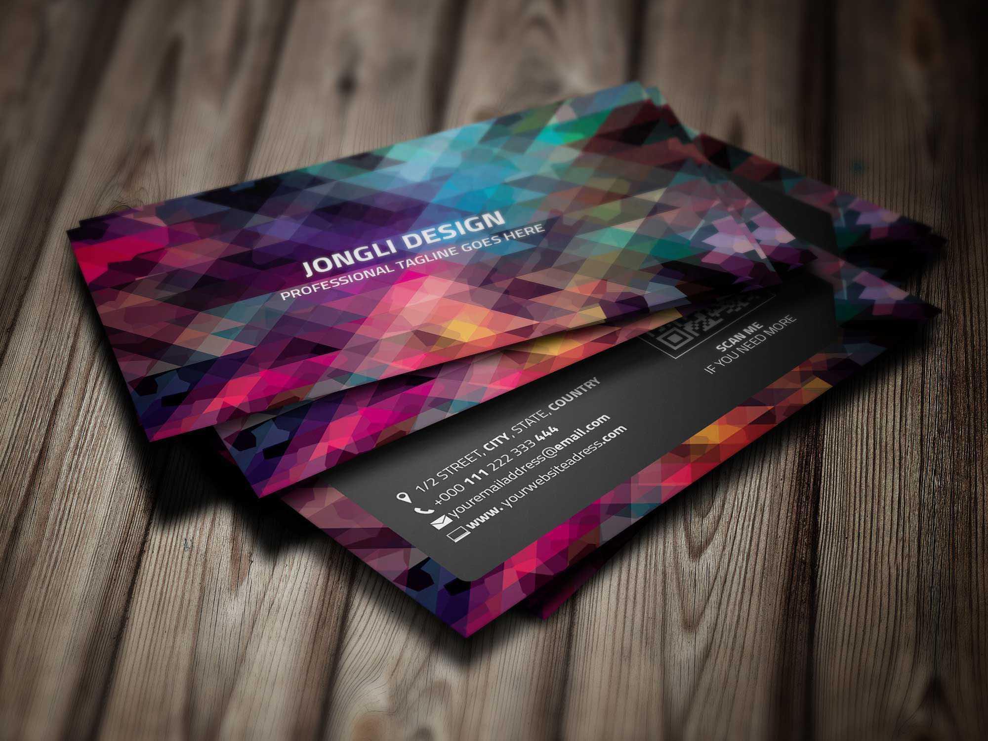 Material Business Card Template (Freebie) on Behance