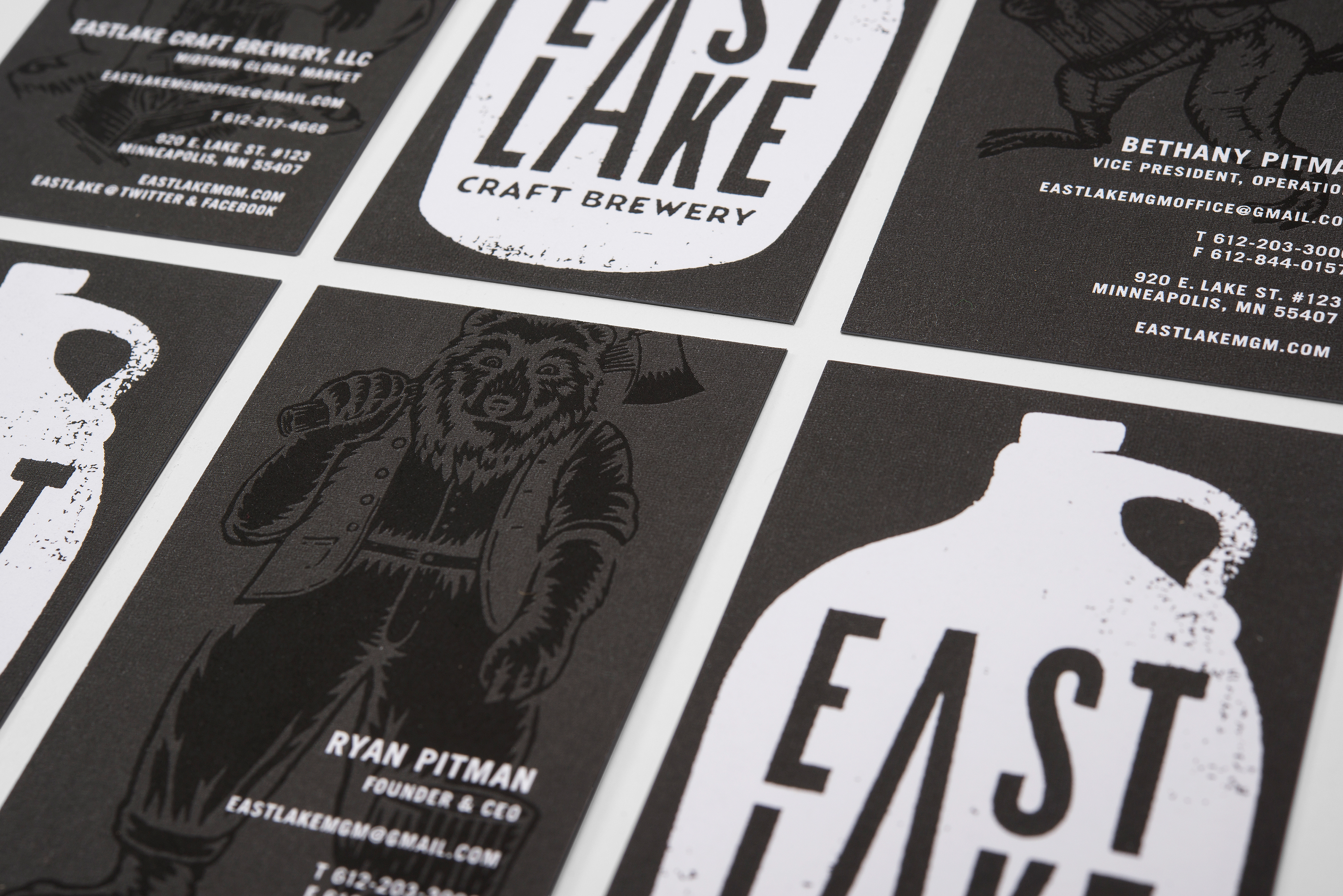 Eastlake Craft Brewery On Behance