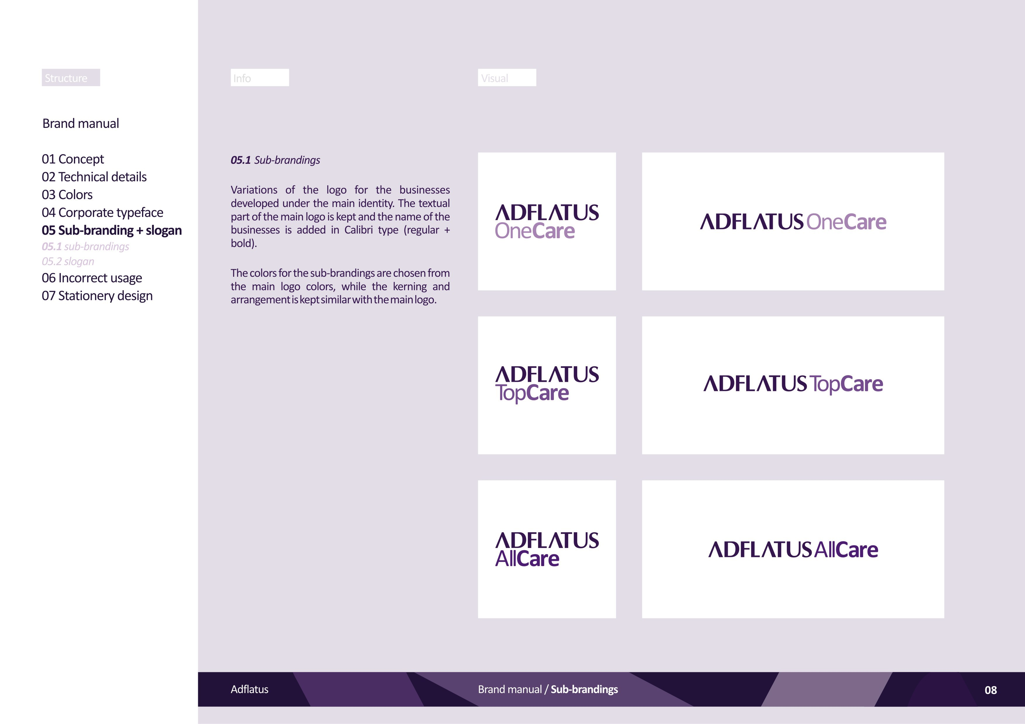 AdflatusTM Identity On Behance
