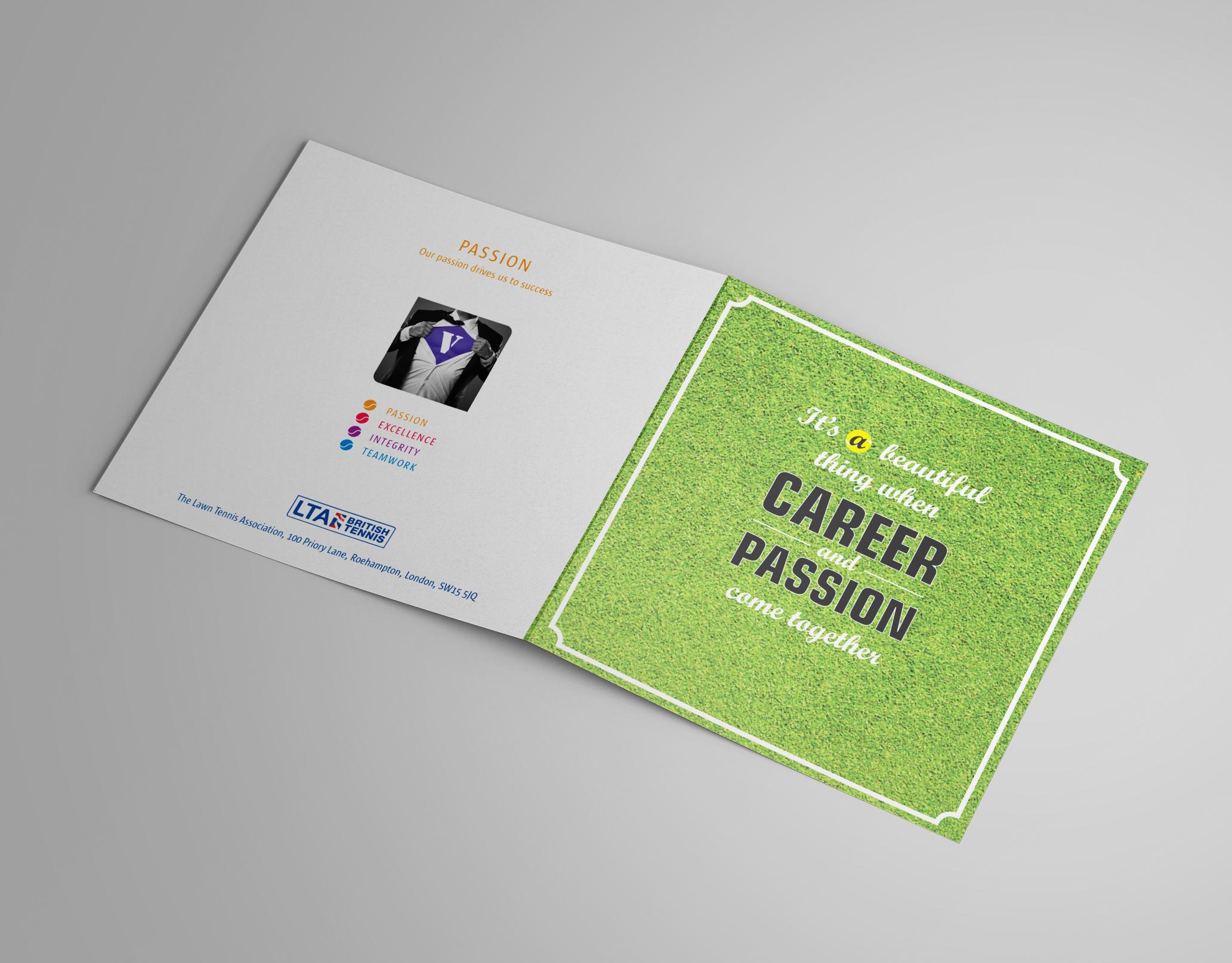 Joanne Mannion Designs - Lawn Tennis Association Launch Event