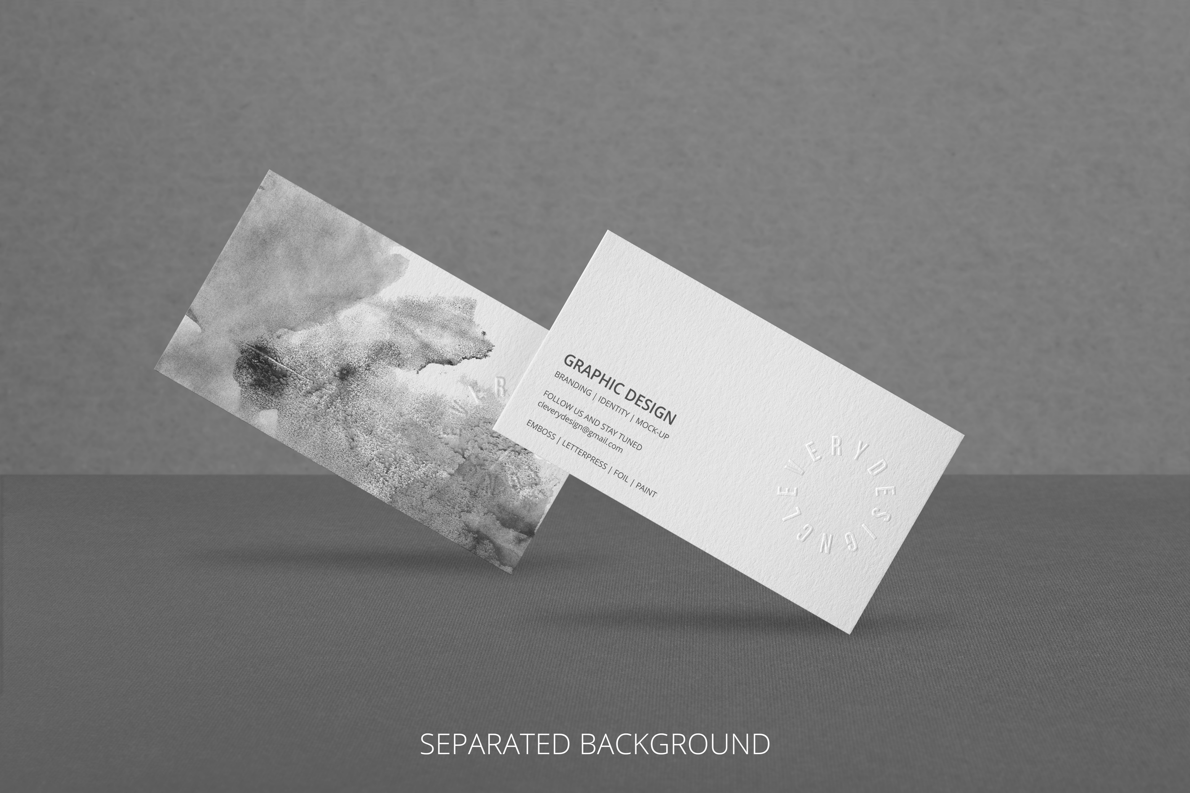 photorealistic business card mock up 2 0 on behance