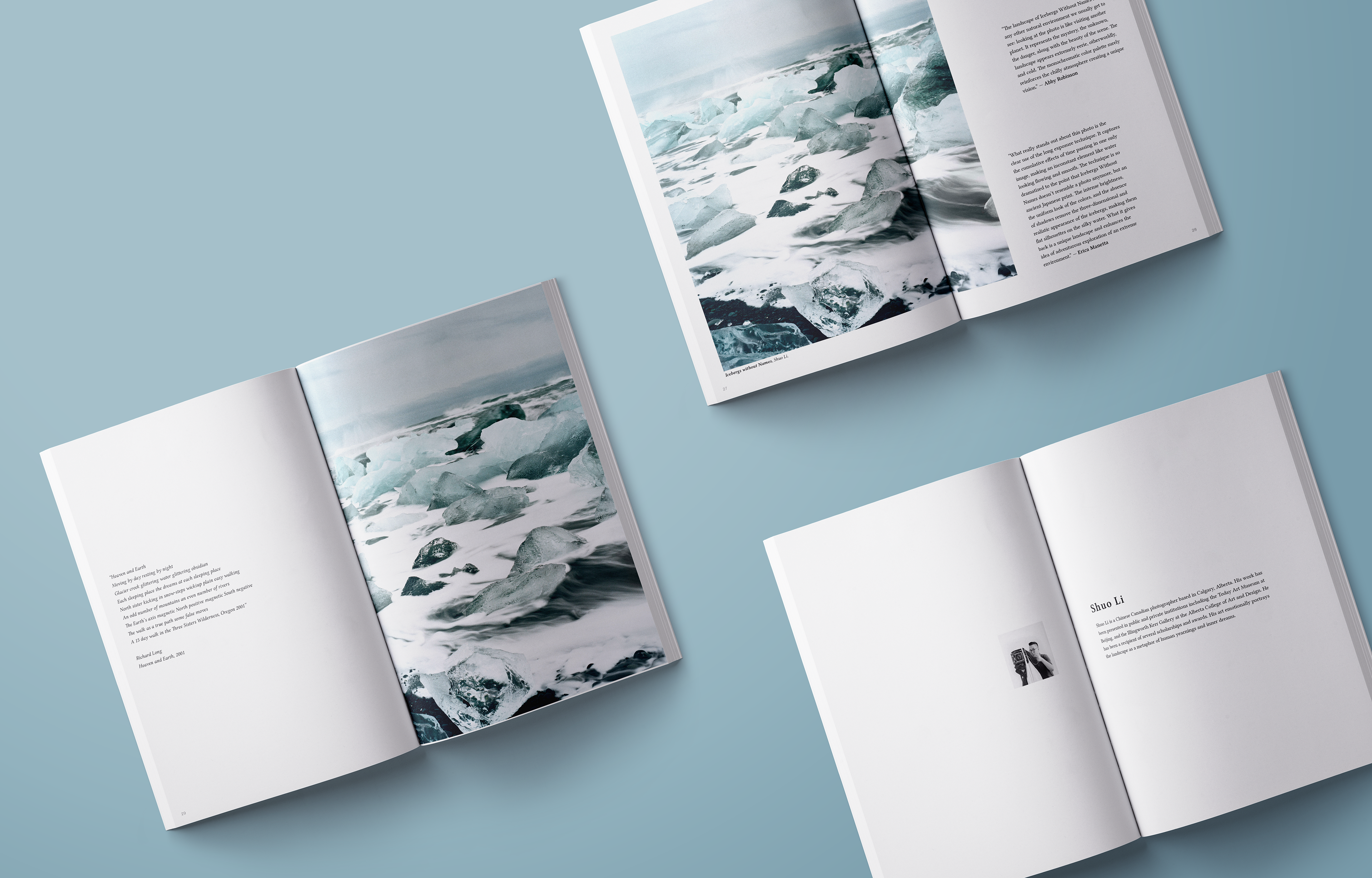 Across the Ocean on Behance