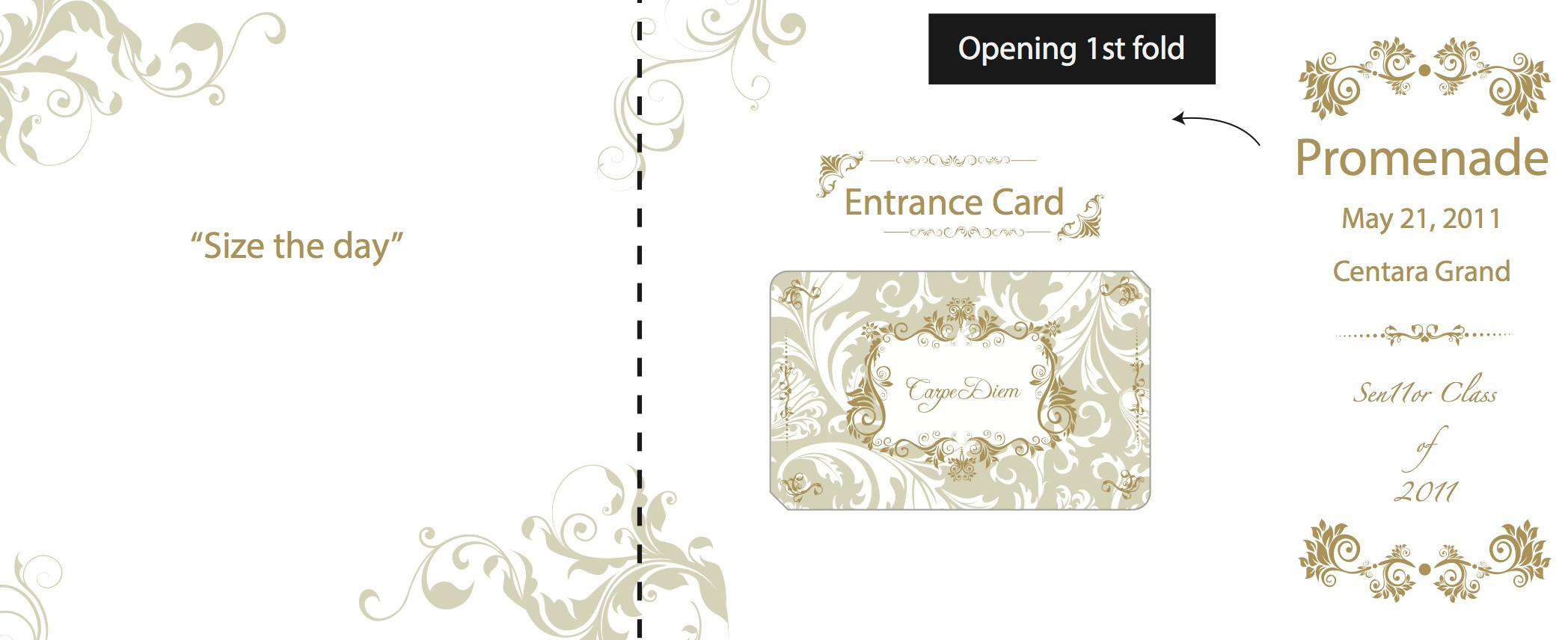 pu hsuan wu prom ticket design