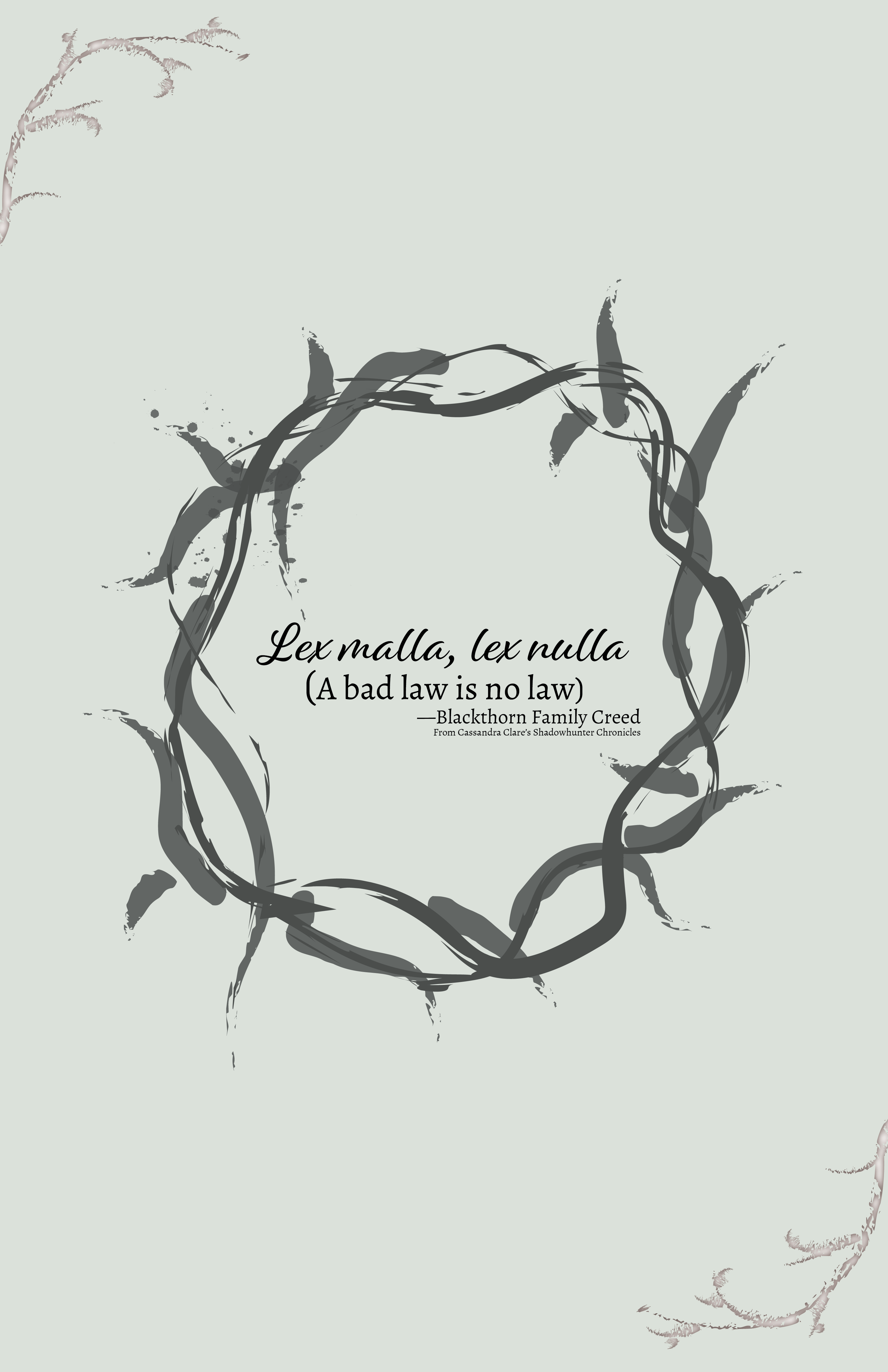 Quote Posters Shadowhunter Chronicals On Behance