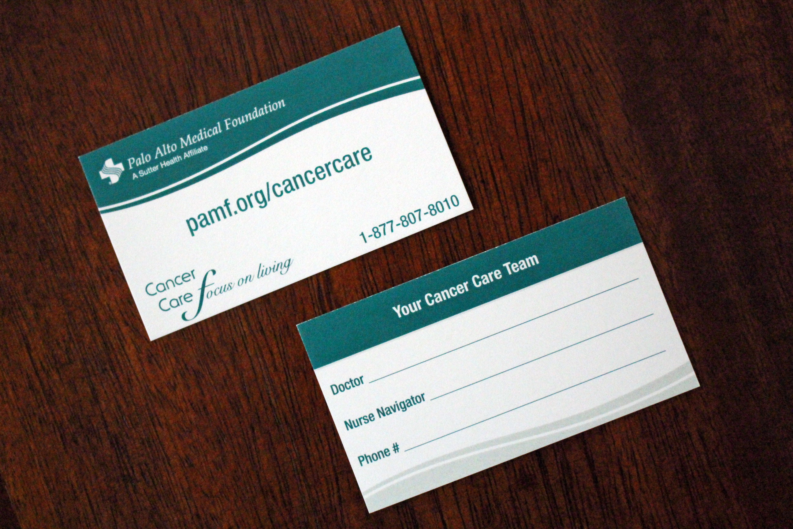 David Cruz   Graphic Designer   Tonalli Design - PAMF Cancer Care ...