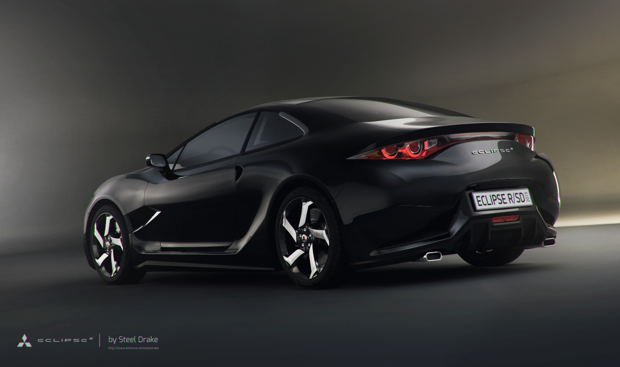 Mitsubishi Eclipse 2015 >> Mitsubishi Eclipse R Concept 2015 On Behance