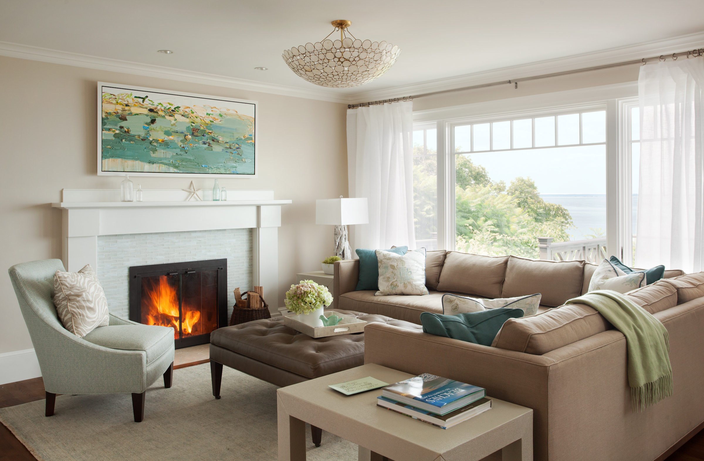 Plymouth Residence Interior Design Styling Assisted In The Renovation And Of A Seaside Home Firm LeBlanc Photography Eric Roth