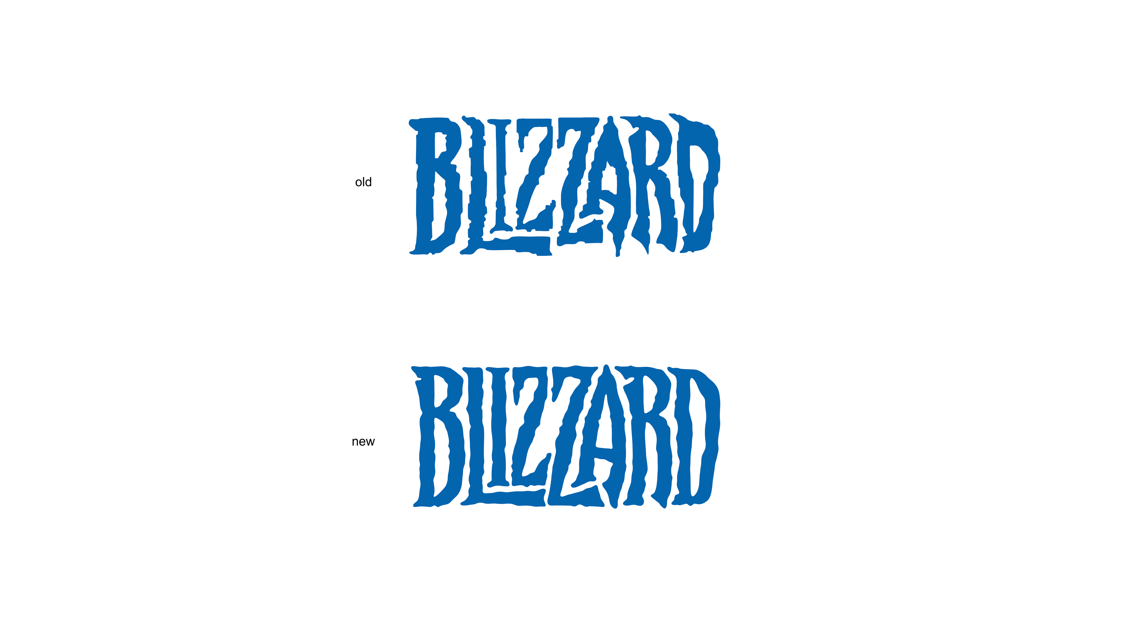 Redesign The Blizzard Logo Concept On Behance